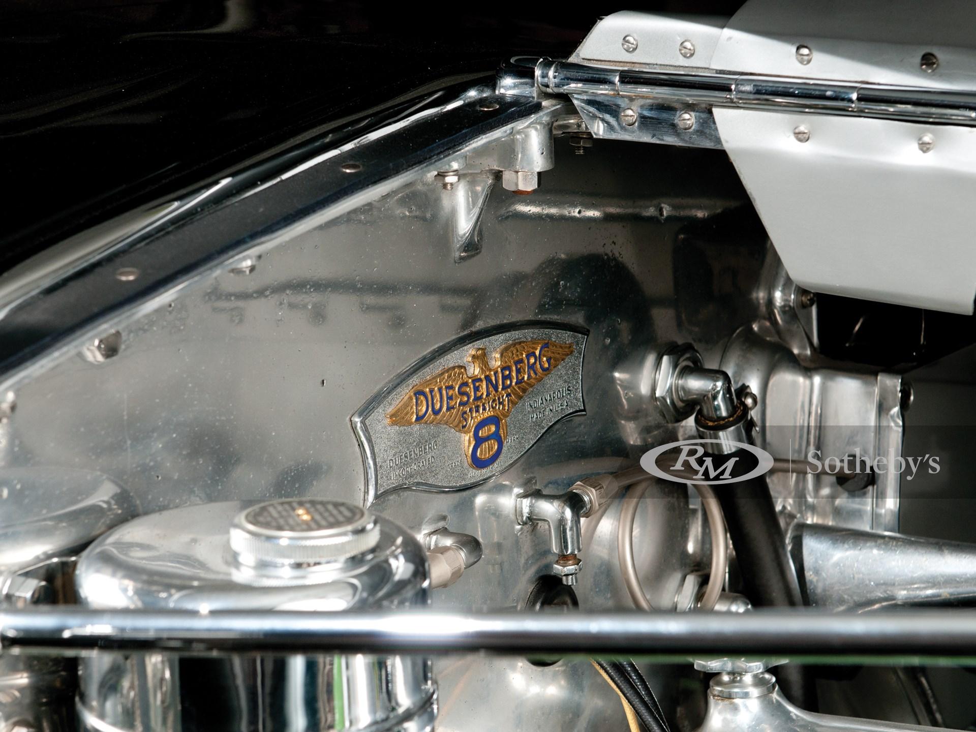 1929 Duesenberg Model J Dual-Cowl Phaeton in the style of Murphy -
