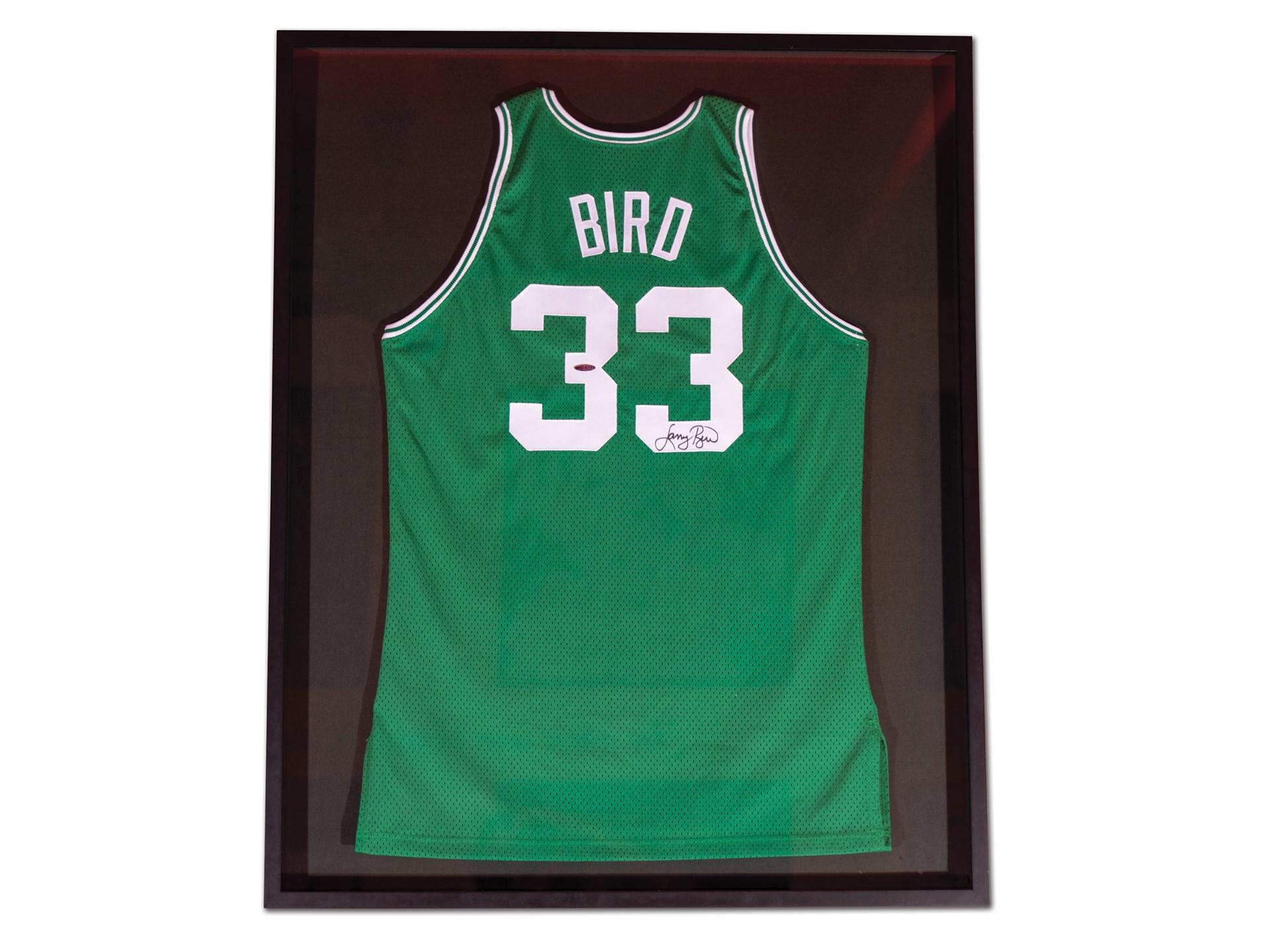 differently 132b3 42695 RM Sotheby's - Larry Bird Boston Celtics Autographed Jersey ...