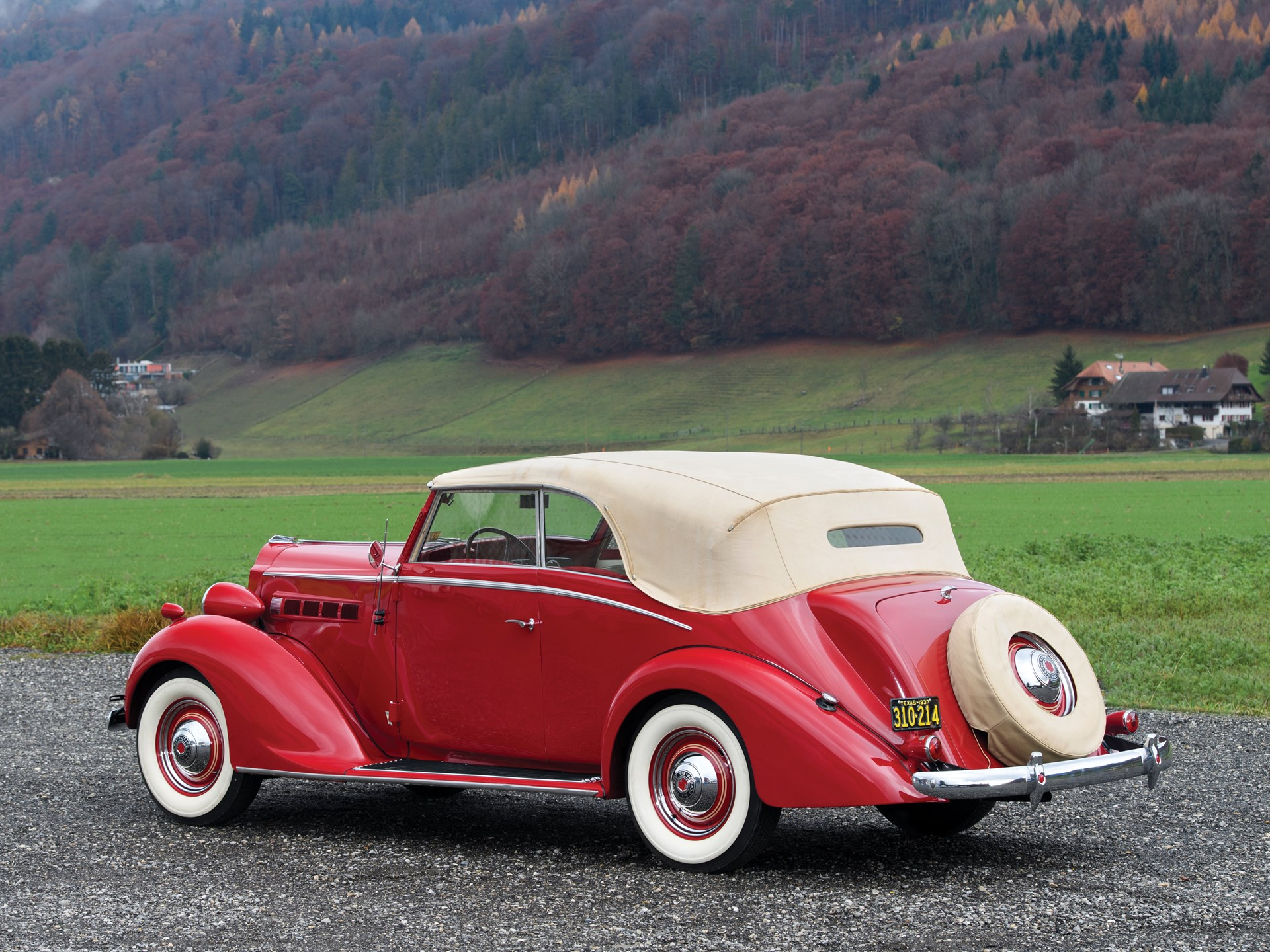 1937 Packard Six Cabriolet by Graber
