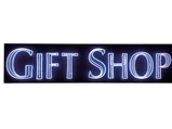 Gift Shop Neon Sign - $