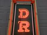 Drugs Neon Porcelain Sign - $