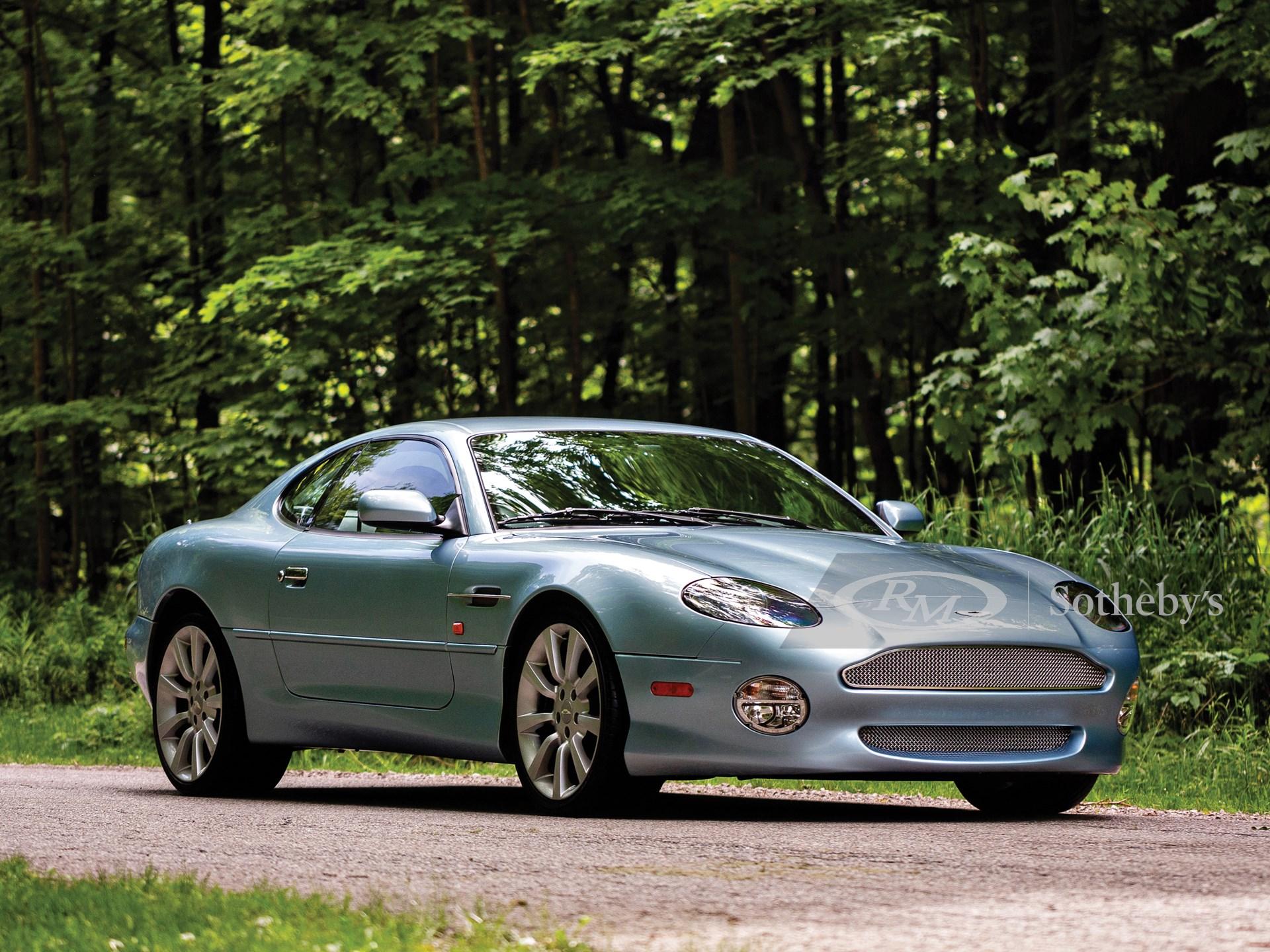 2003 Aston Martin Db7 Vantage Monterey 2019 Rm Sotheby S