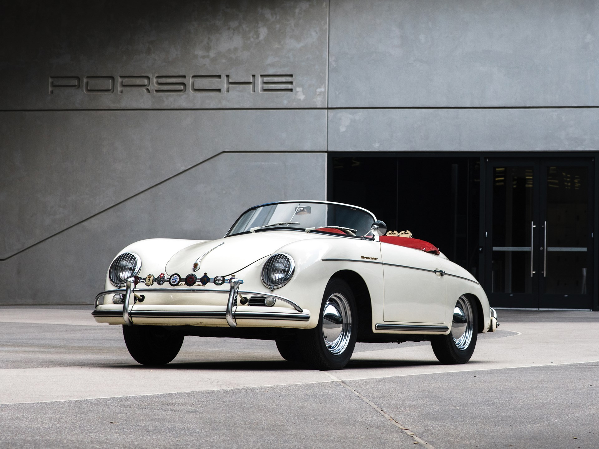 1956 Porsche 356 A 1600 'Super' Speedster by Reutter