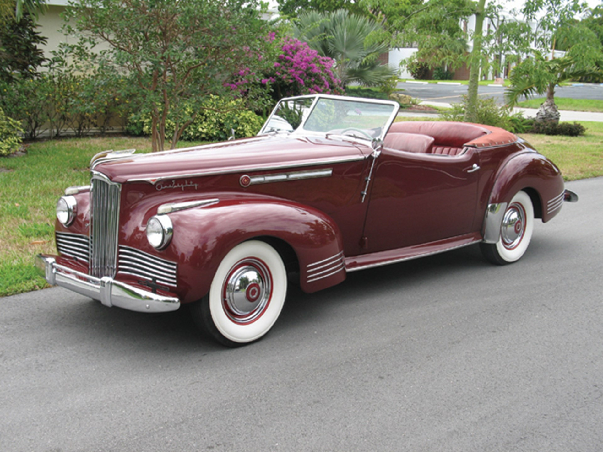 1942 Packard One-Eighty Convertible Victoria by Darrin