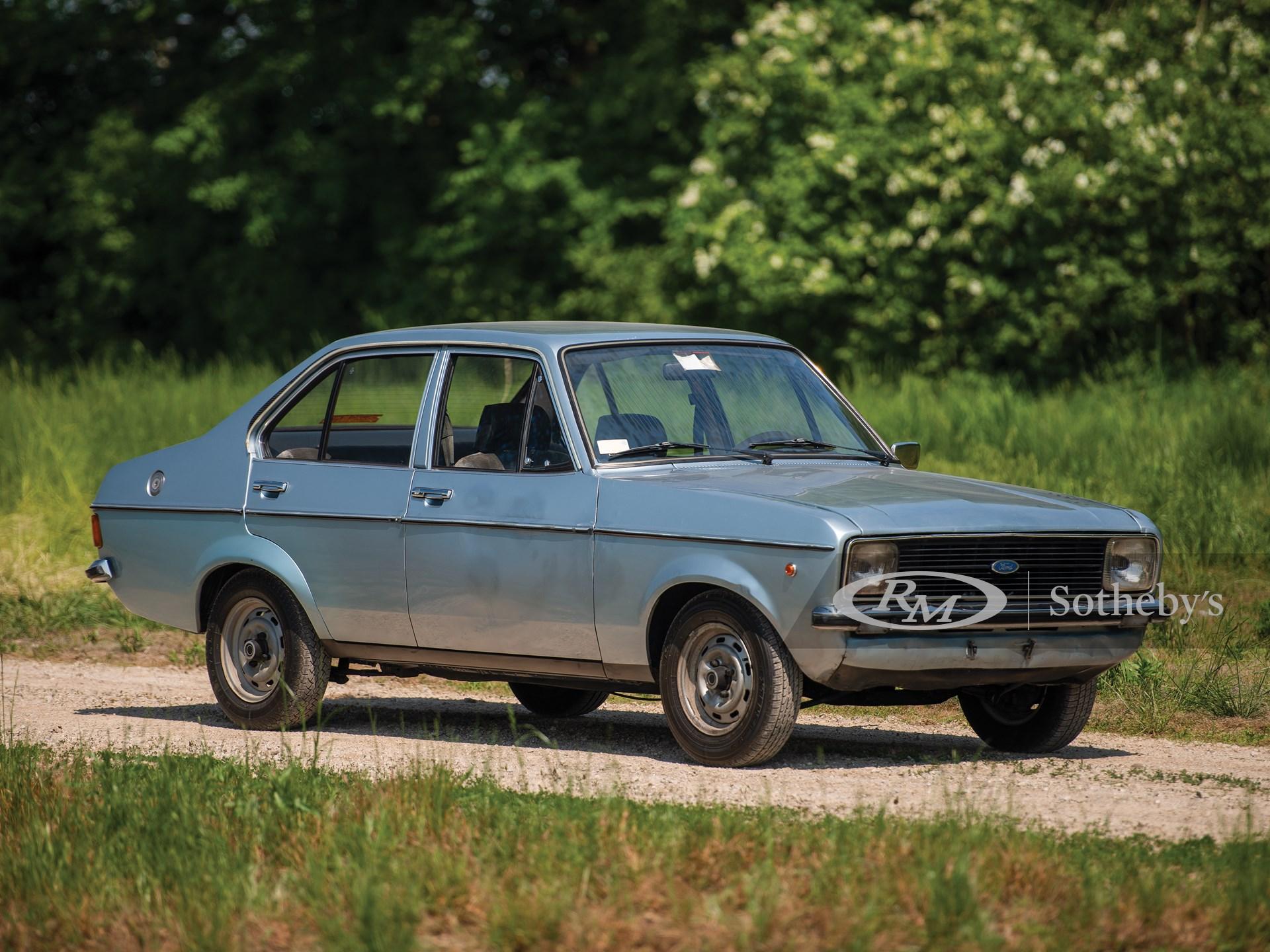 1976 Ford Escort 1100 GL Sedan  -