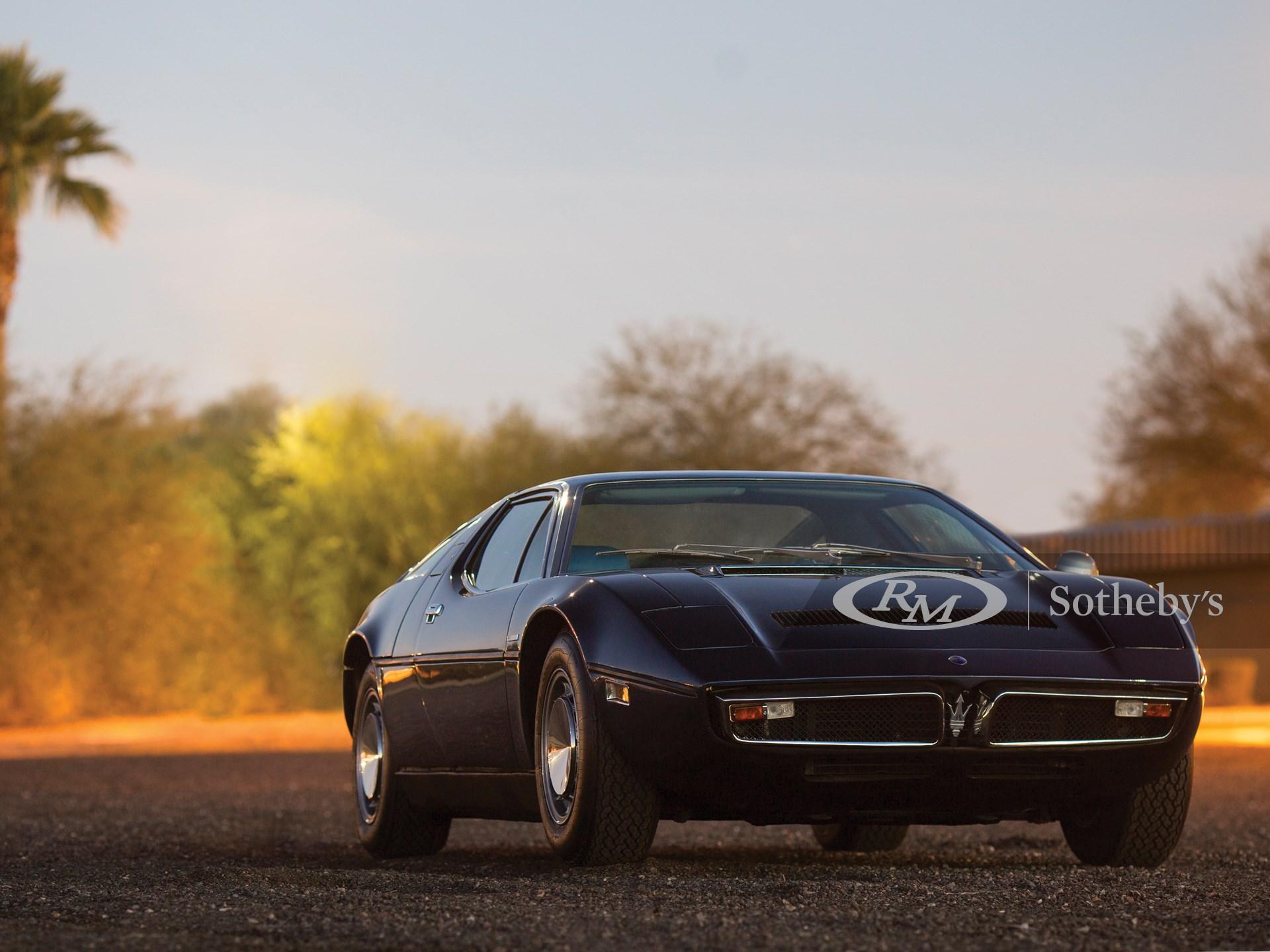1975 Maserati Bora 4.9 | Arizona 2017 | RM Sotheby's