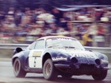 1974 Alpine-Renault A110 B 'Team Vialle'  - $The Alpine-Renault en-route to a win at Valkenswaard in Holland in August 1977 with Piet Kruythof.