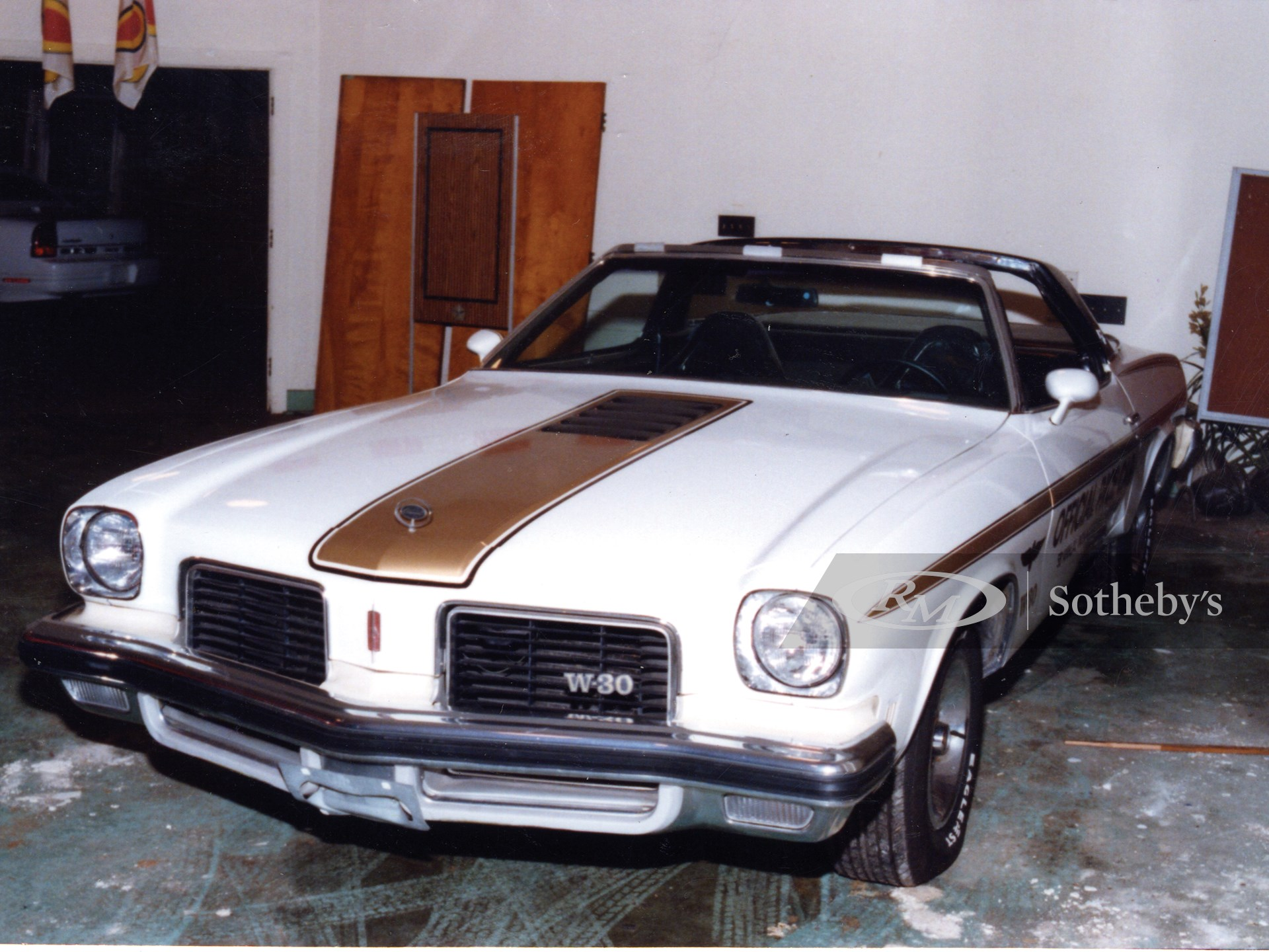1974 Oldsmobile Cutlass Indy 500 Pace Car Convertible