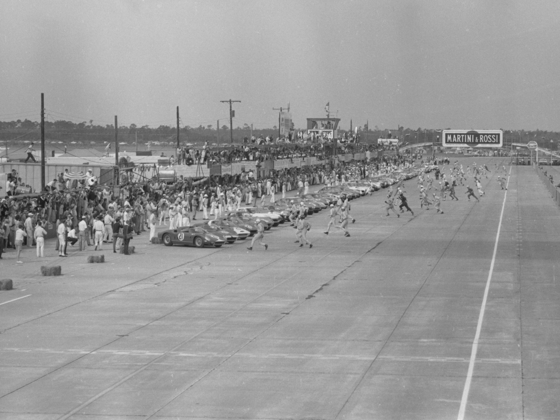 12 Hours of Sebring, 1964, #22, Michael Parks/Umberto Maglioli, 1st Overall.