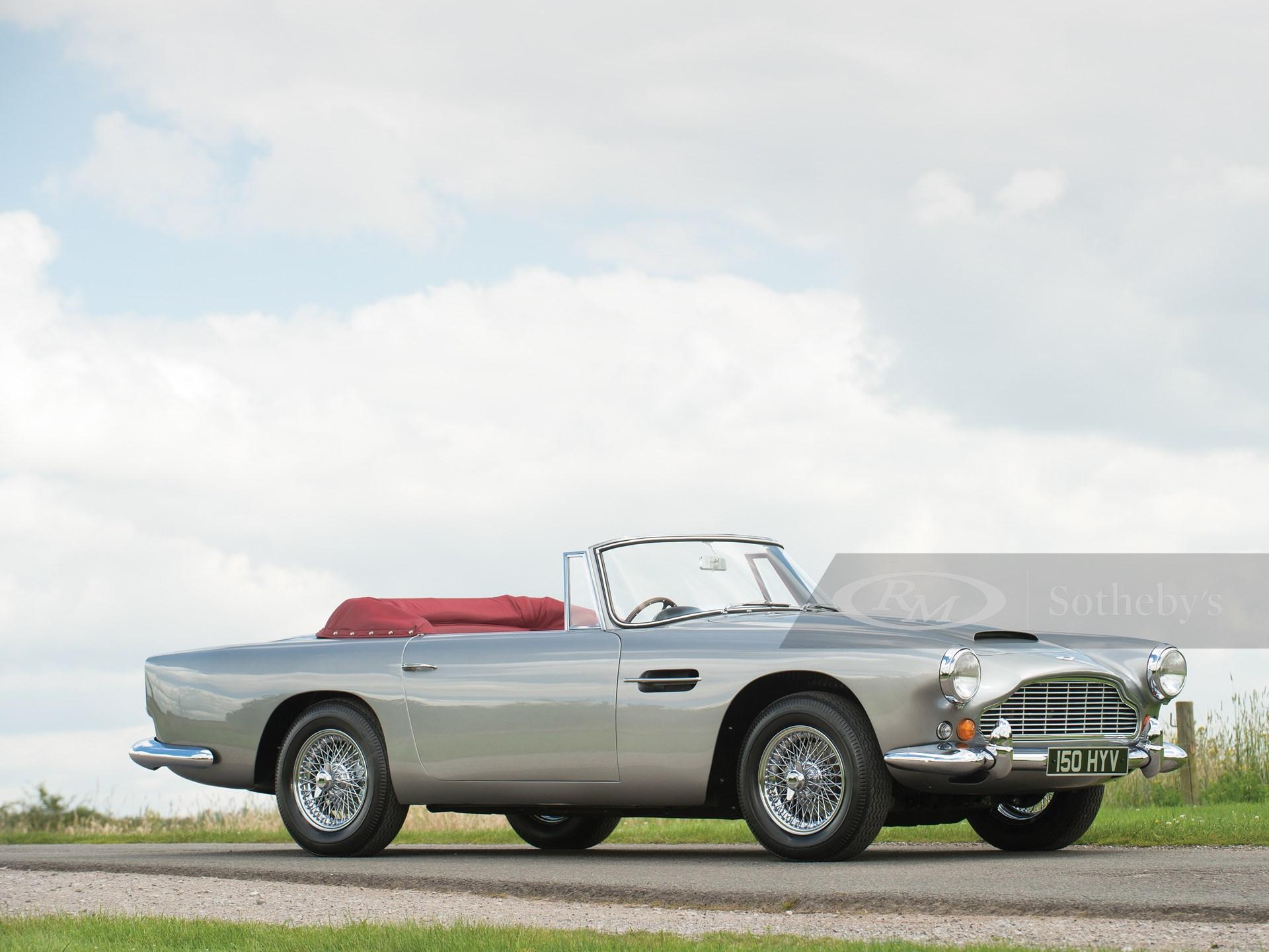 1963 Aston Martin Db4 Series V Convertible London 2016 Rm Sotheby S