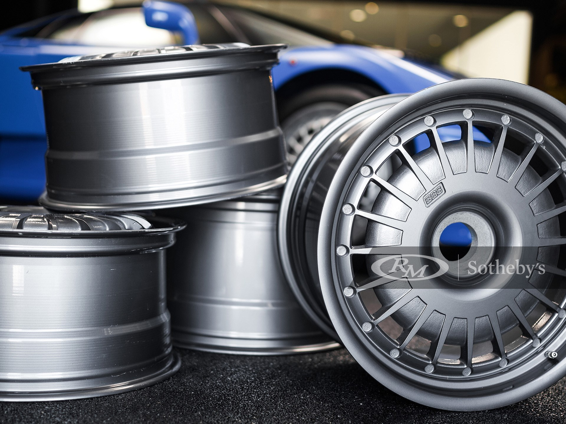 Set of Bugatti EB110 Wheels available at RM Sotheby's Online Only Open Roads April Auction 2021