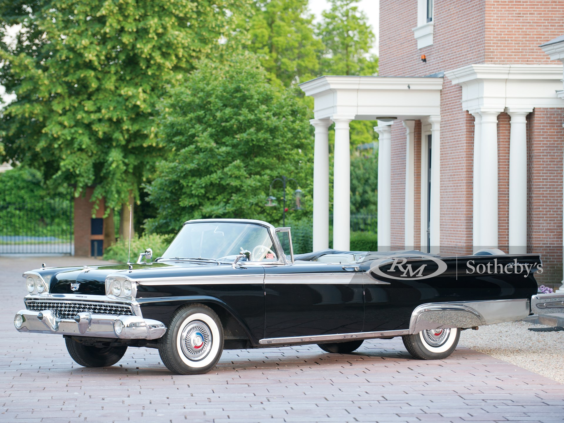 1959 Ford Fairlane Galaxie 500 Sunliner Convertible