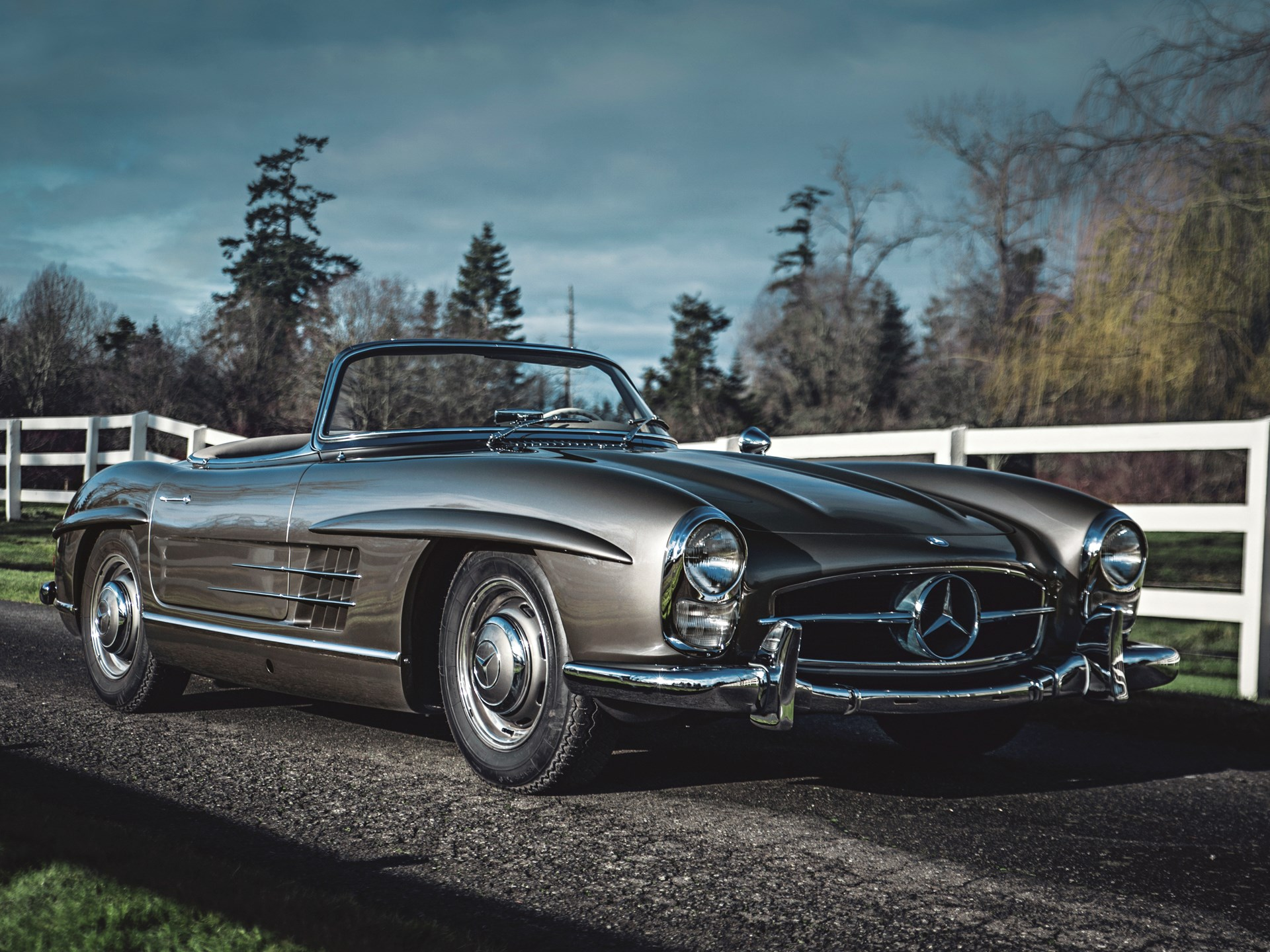 rm sotheby 39 s 1958 mercedes benz 300 sl roadster. Black Bedroom Furniture Sets. Home Design Ideas