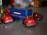 Selection of Metal Toy Trucks - $