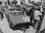 1962 Ferrari 268 SP by Fantuzzi - $Chassis no. 0798 lined up for the start of the 1962 24 Hours of Le Mans.