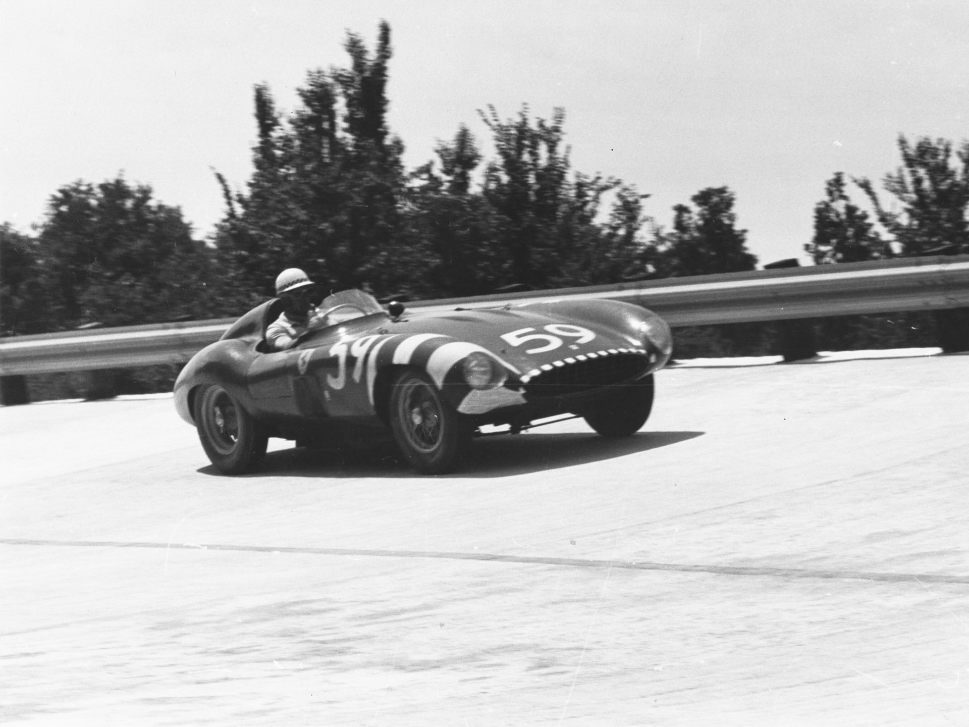 Chassis no. 0534 MD as seen at the IV Gran Premio Supercortemaggiore in June of 1956.