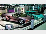 1993 Vector Avtech WX-3R Roadster Prototype  - $The Vector Avtech WX-3 prototypes on display at the Geneva Motor Show in 1993.