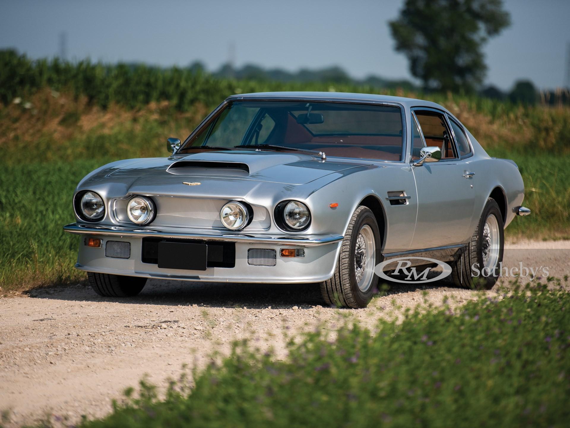 1977 Aston Martin V8 Vantage Bolt On Fliptail Auburn Fall 2019 Rm Auctions