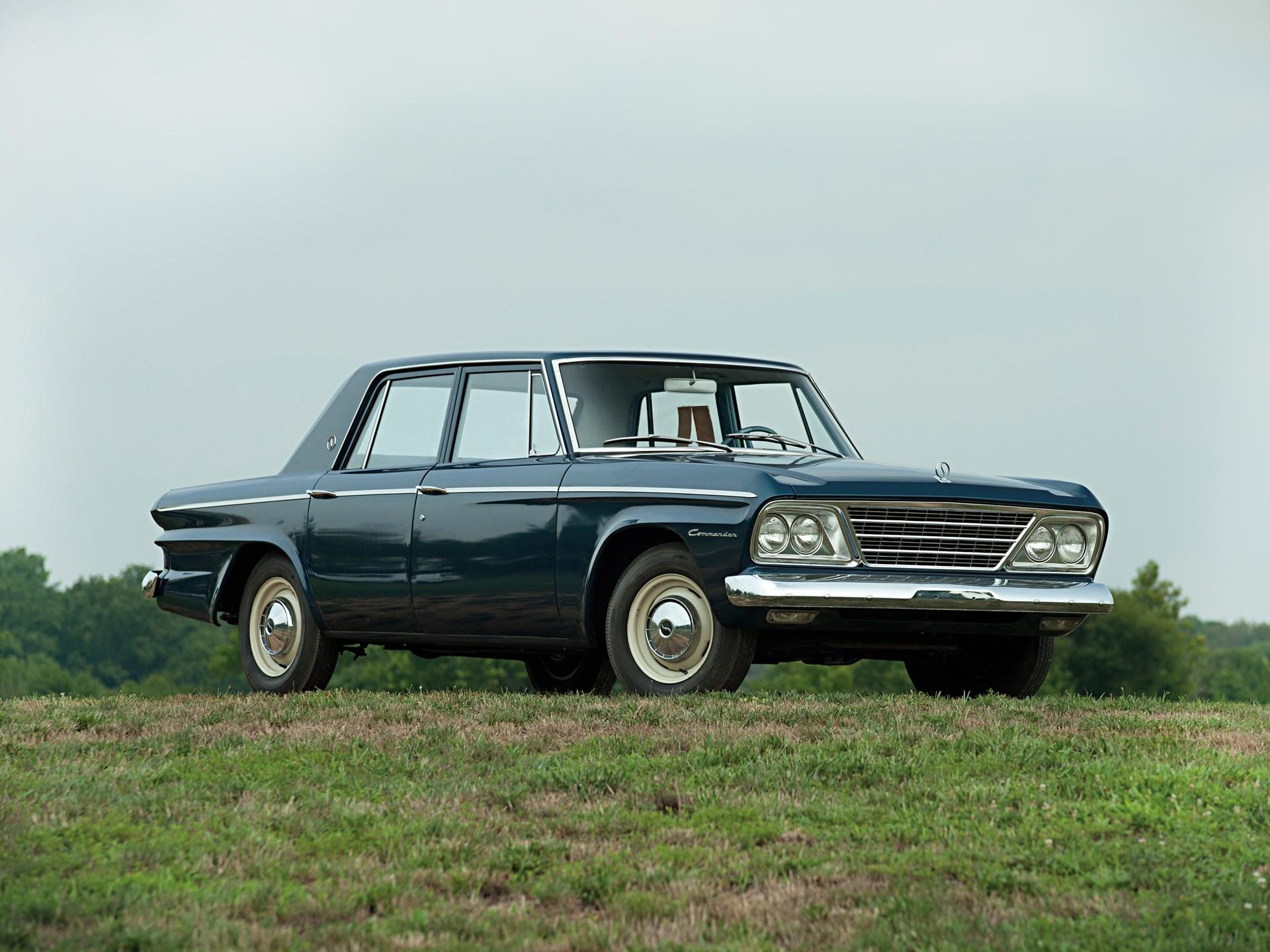rm sotheby s 1964 studebaker commander four door sedan hershey 2012