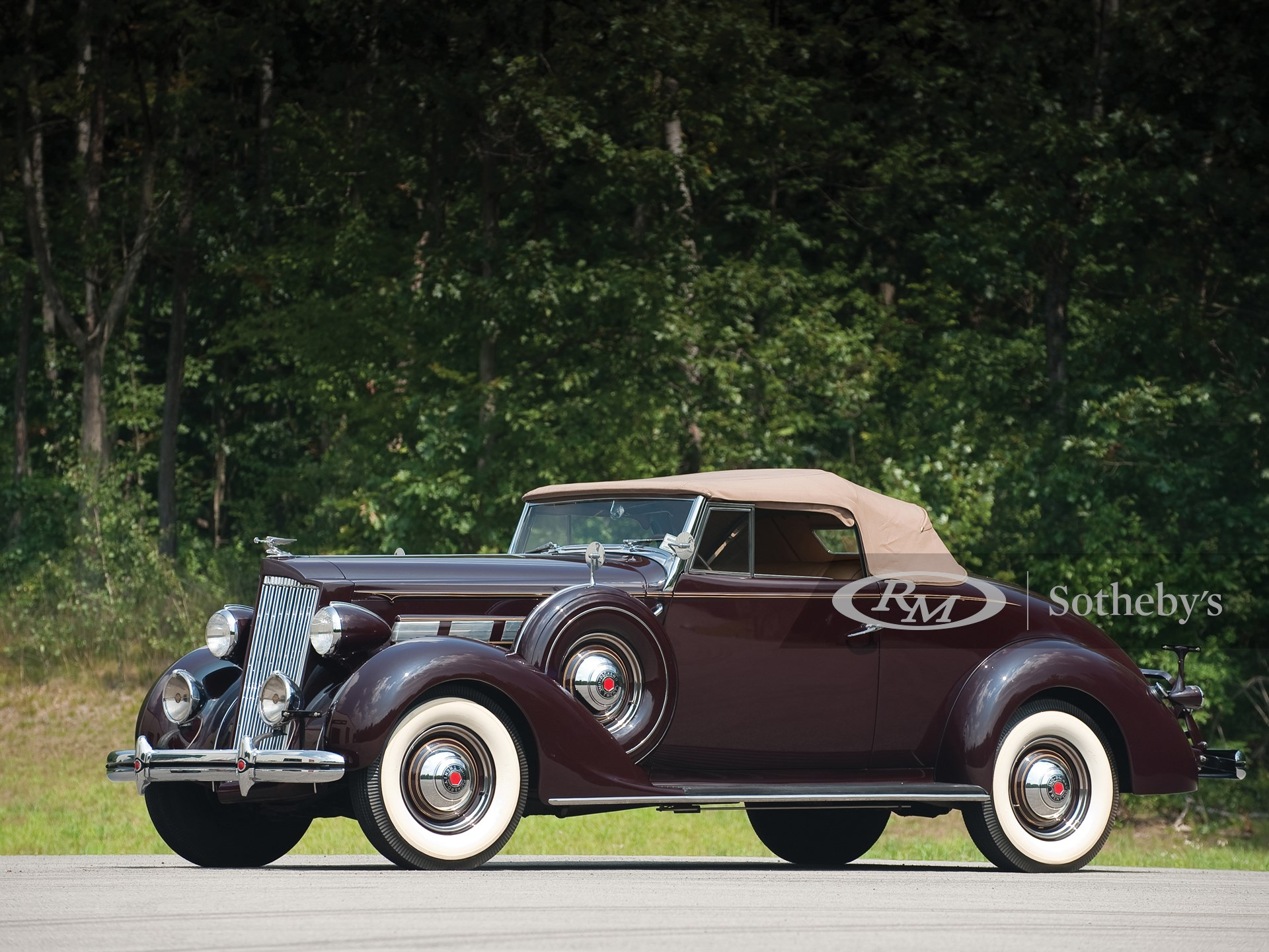 1937 Packard One-Twenty Convertible