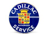 Cadillac Authorized Service Double-Sided Sign - $