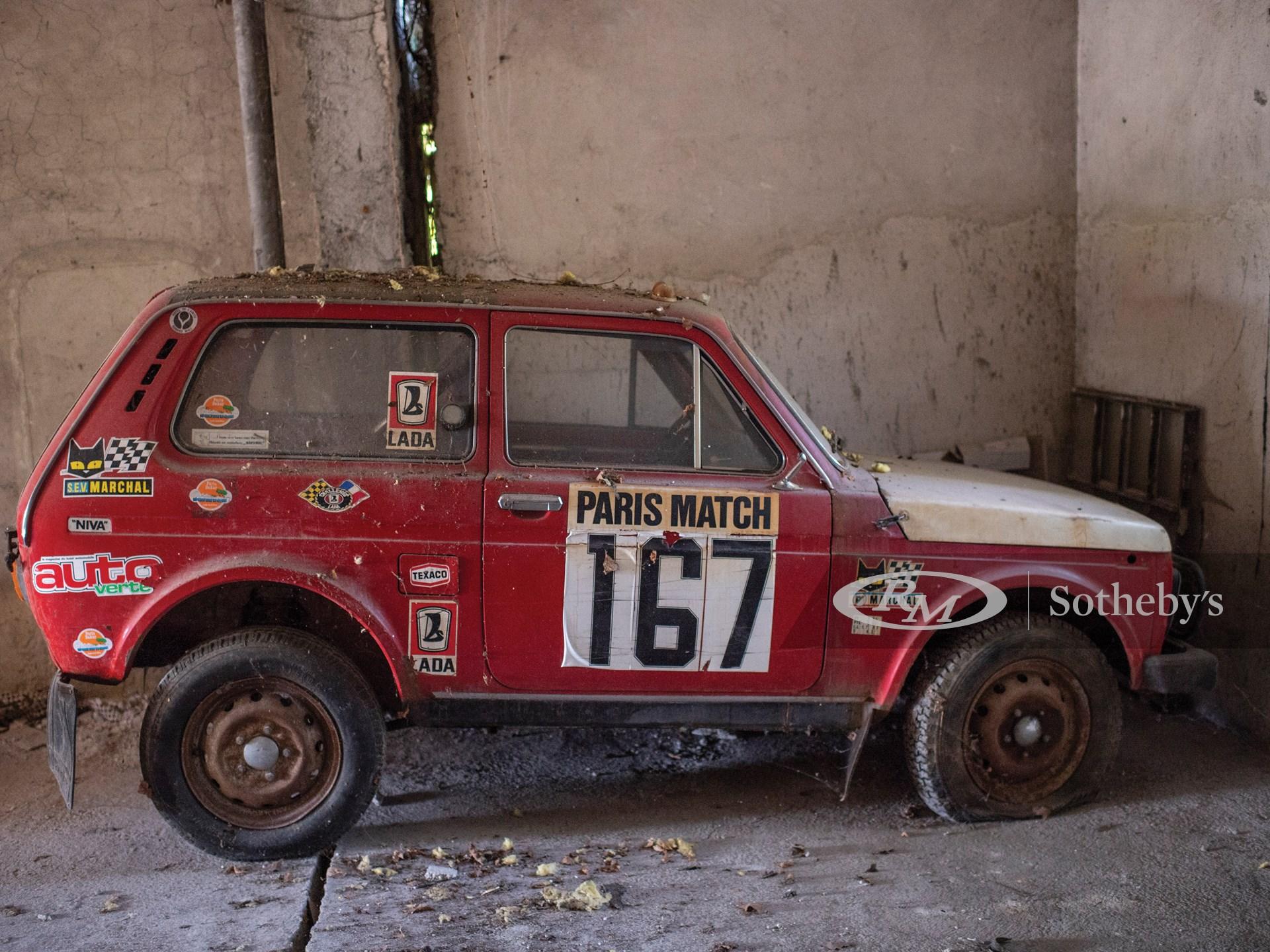 1979 Lada Niva 4×4 Paris-Dakar  -