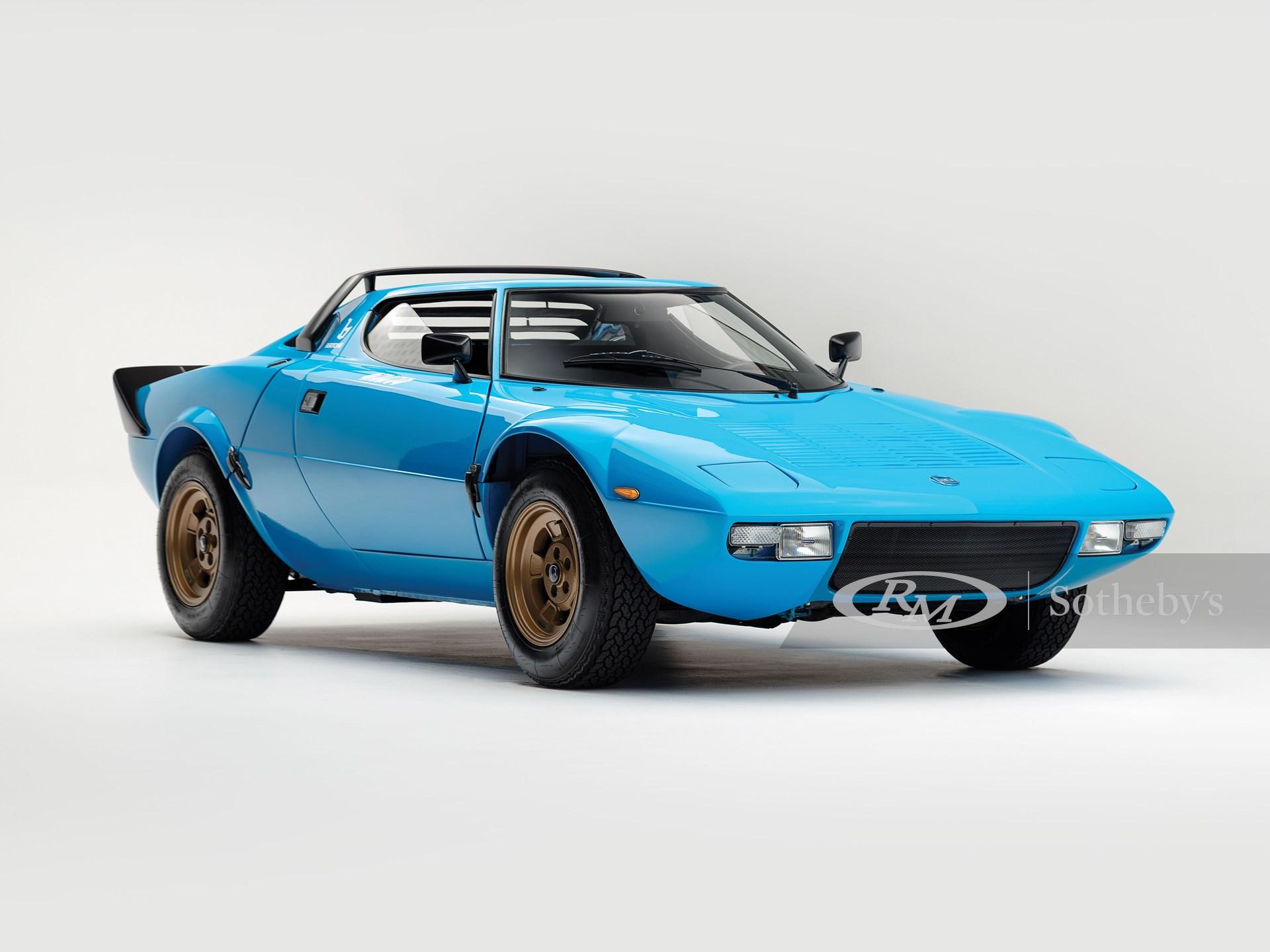 1975 Lancia Stratos HF Stradale by Bertone -