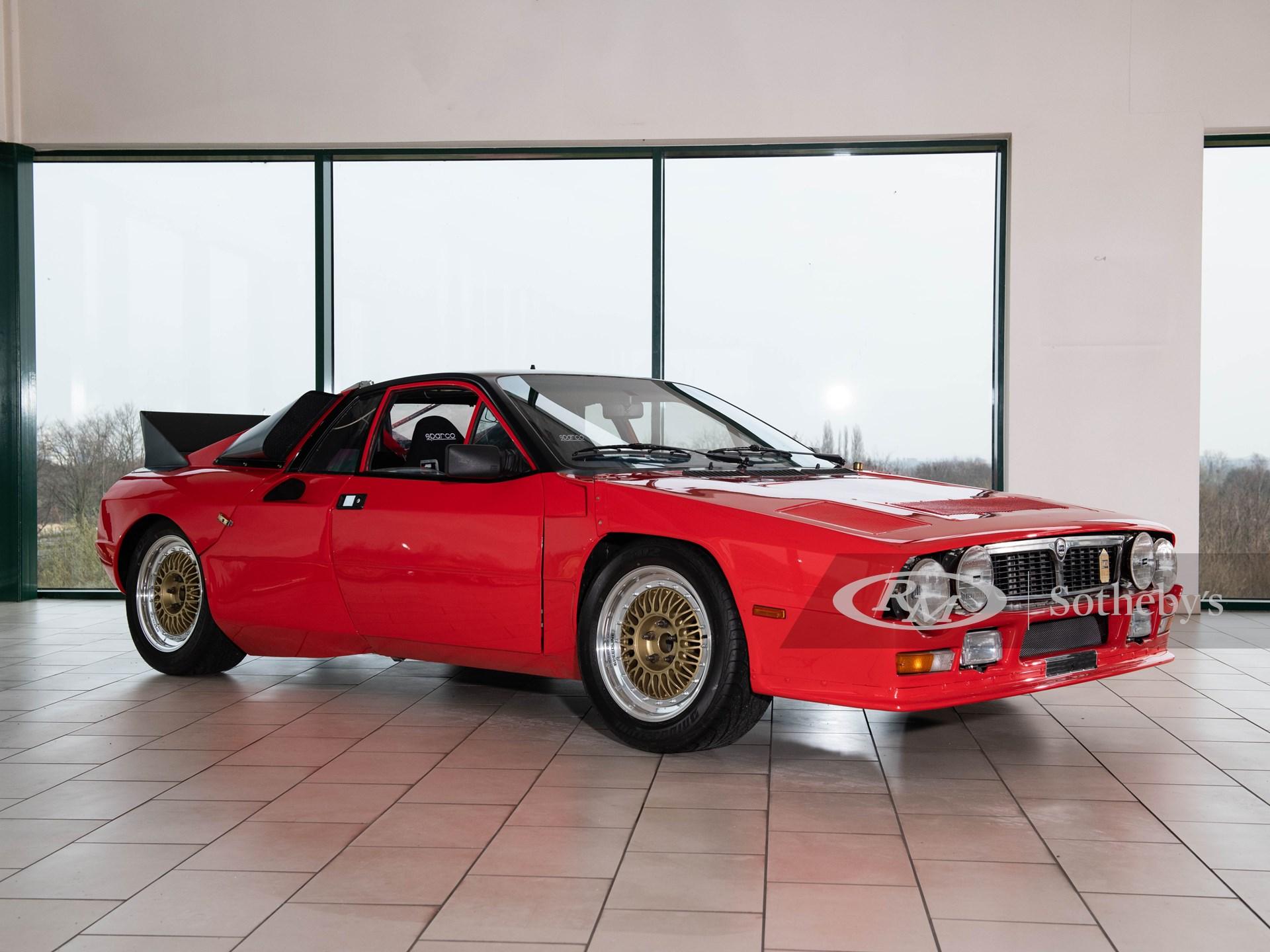 1980 ランチア ラリー SE 037 プロトタイプ