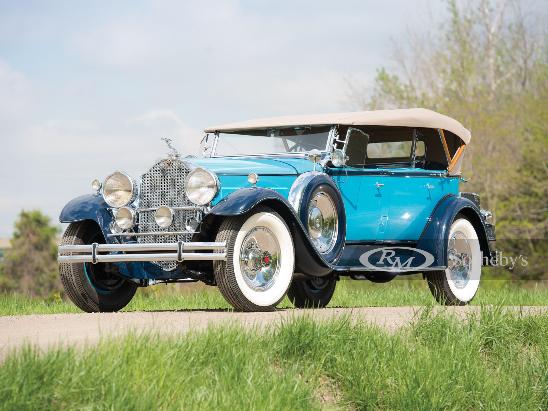 1930 Packard Custom Eight Sport Phaeton