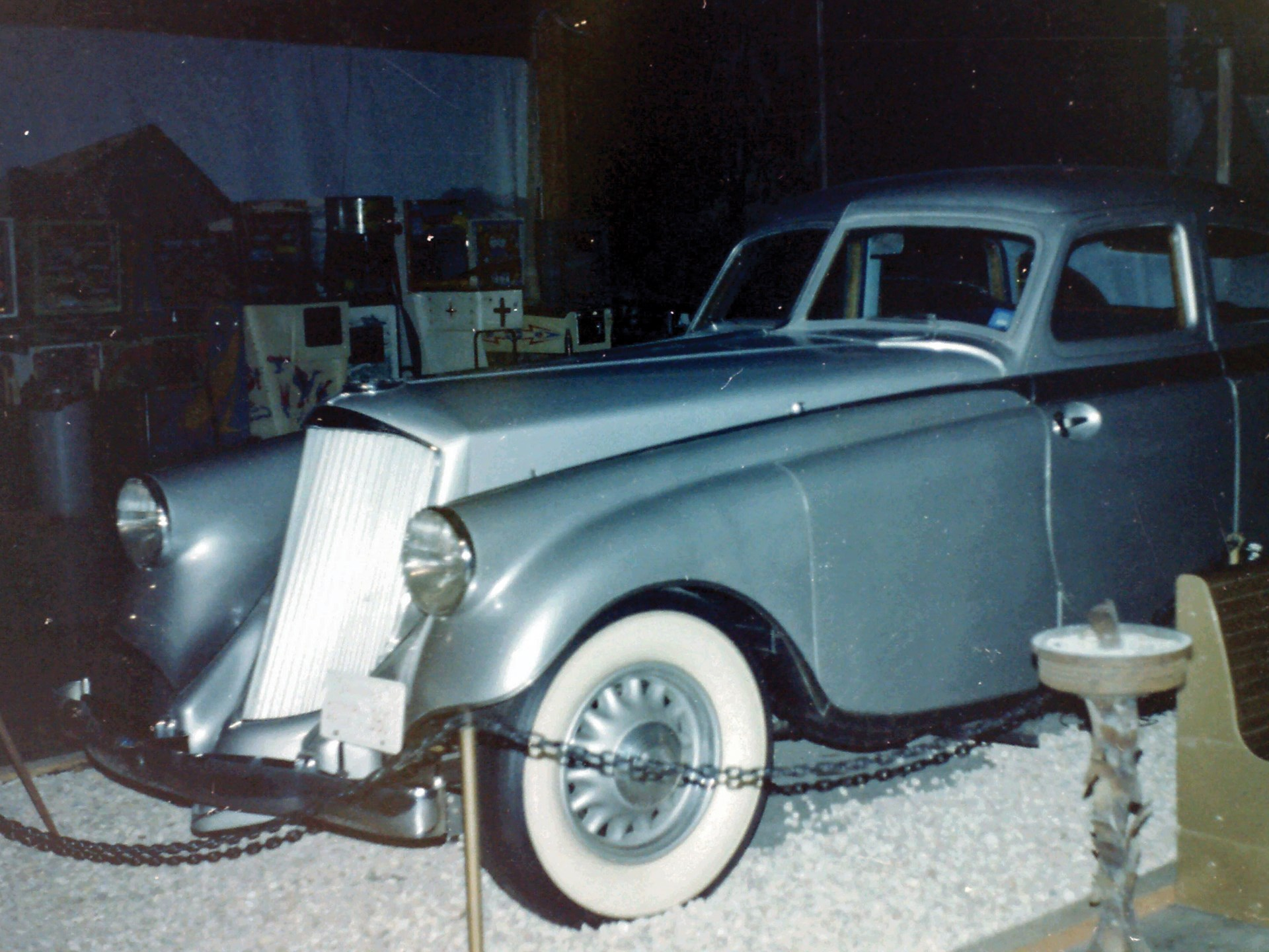 The first Silver Arrow as it appeared on exhibit at Movieworld in the 1970s.