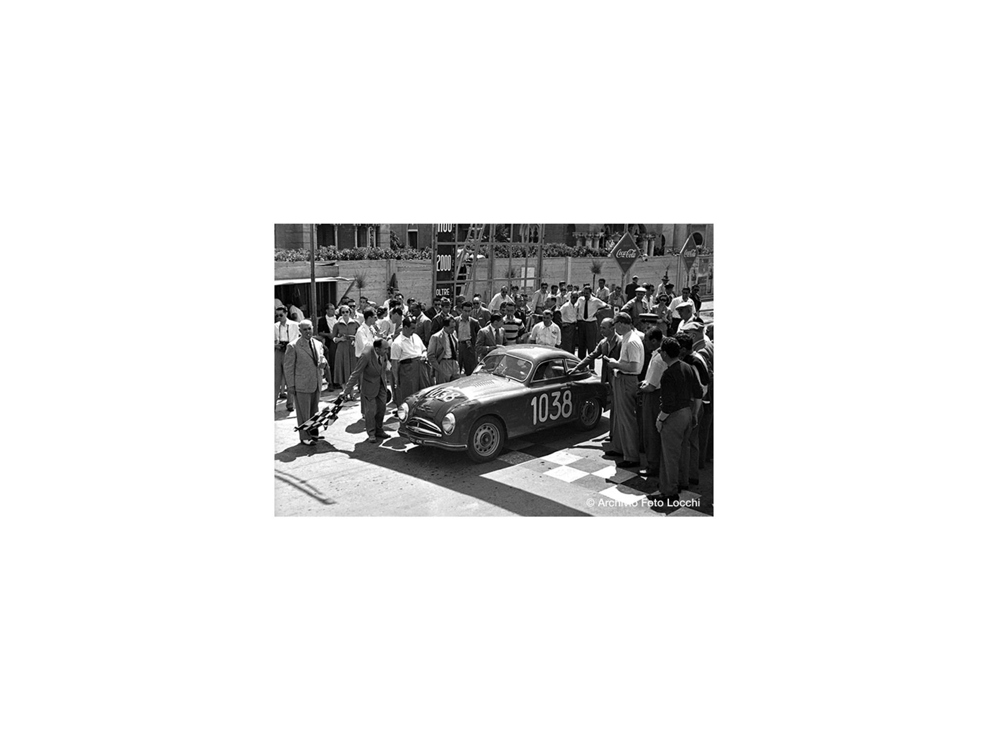 The Fiat-Patriarca at the Coppa della Toscana.