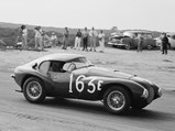"""1950 Ferrari 166 MM/212 Export """"Uovo"""" by Fontana - $The Uovo racing in July of 1954 at Torrey Pines."""