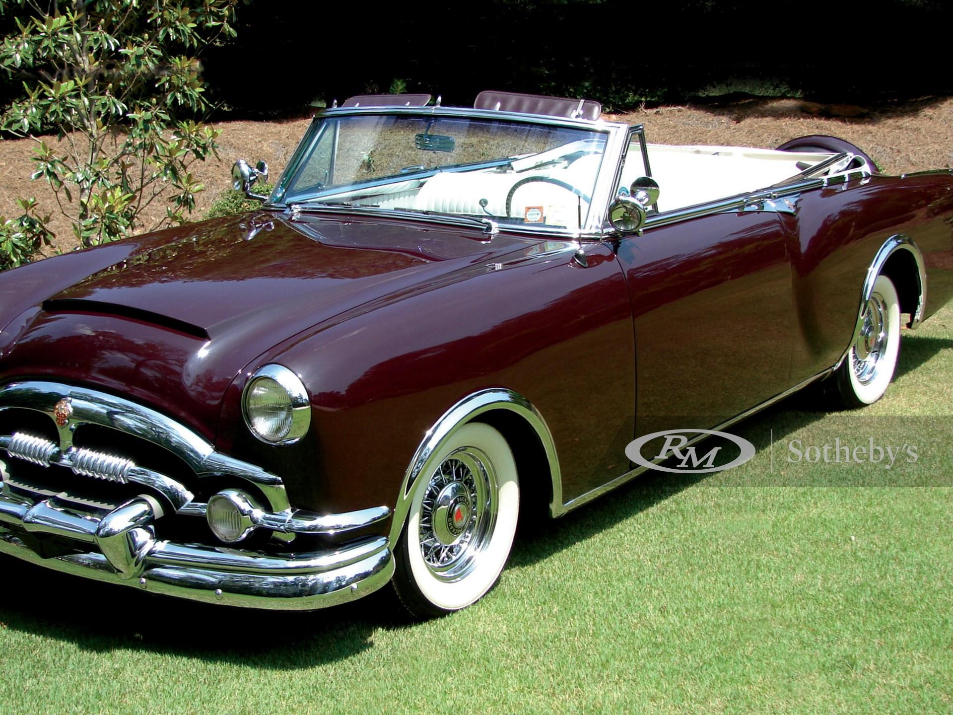 1953 Packard Caribbean Convertible