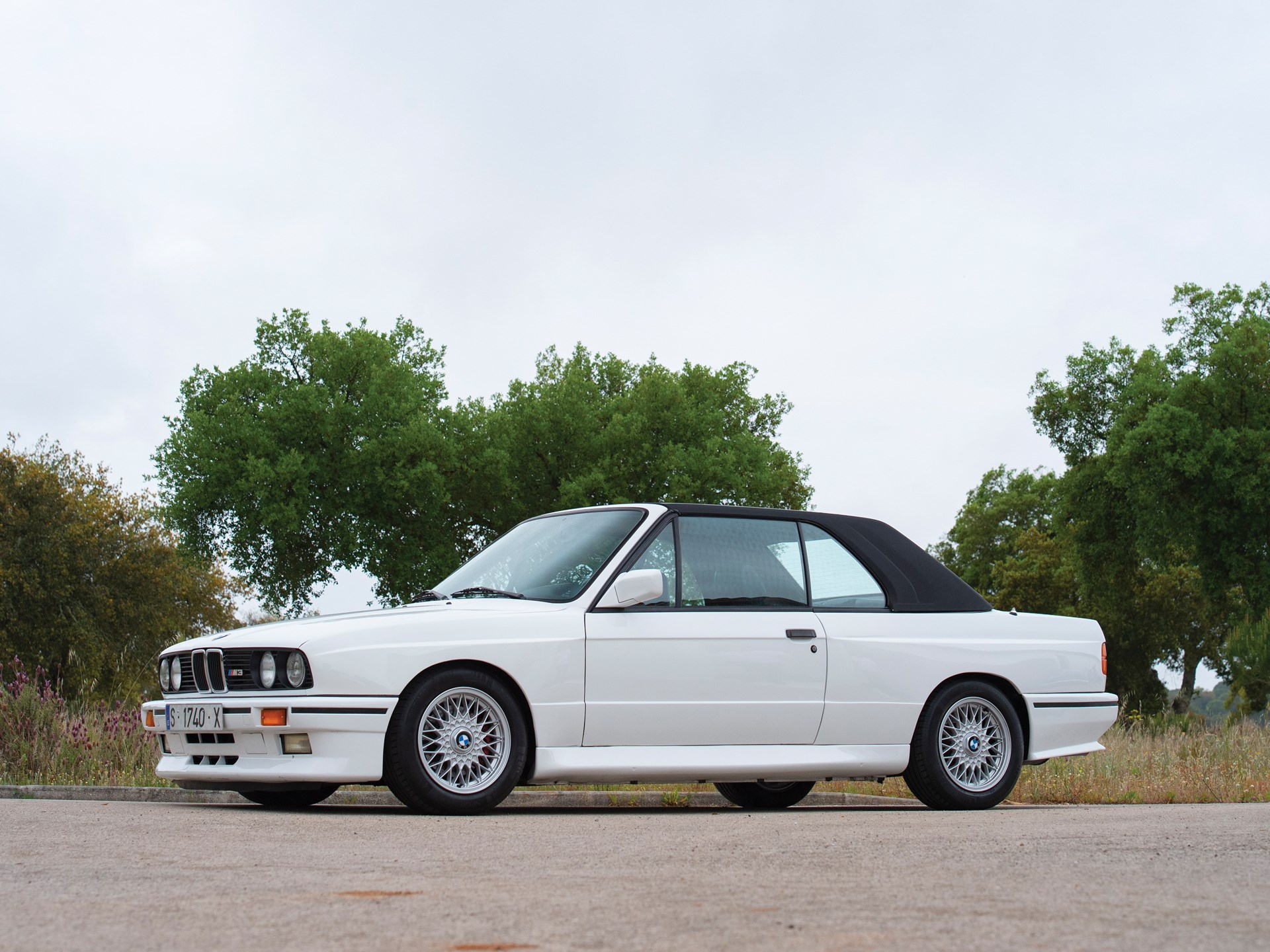 Bmw M3 Convertible >> Rm Sotheby S 1990 Bmw M3 Convertible The Saragga Collection