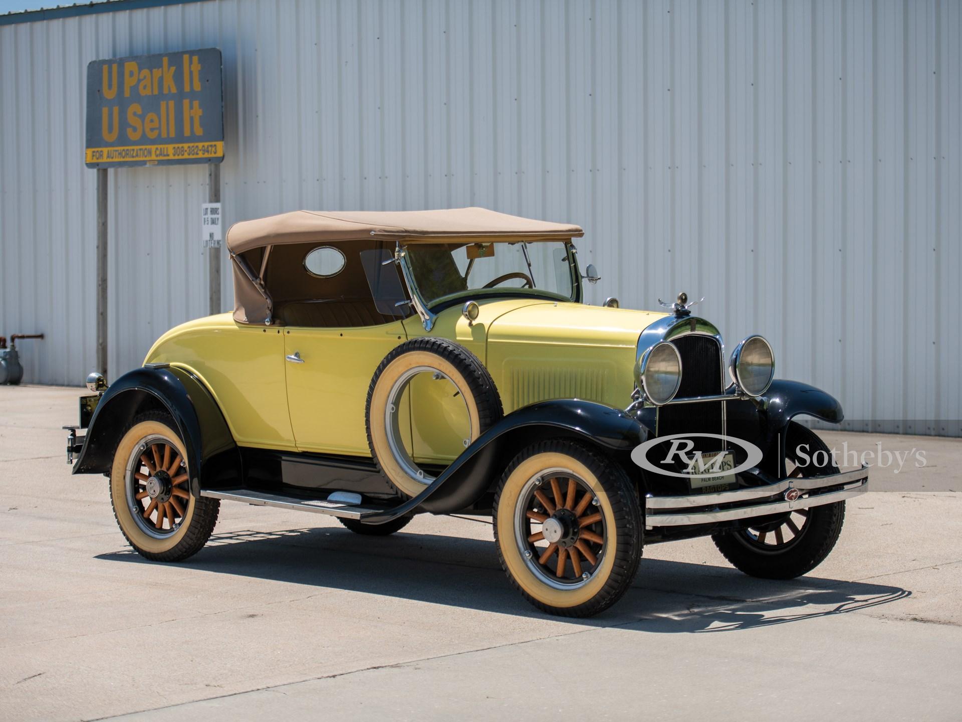 1929 Whippet Model 96A 2/4-Passenger Sport Roadster