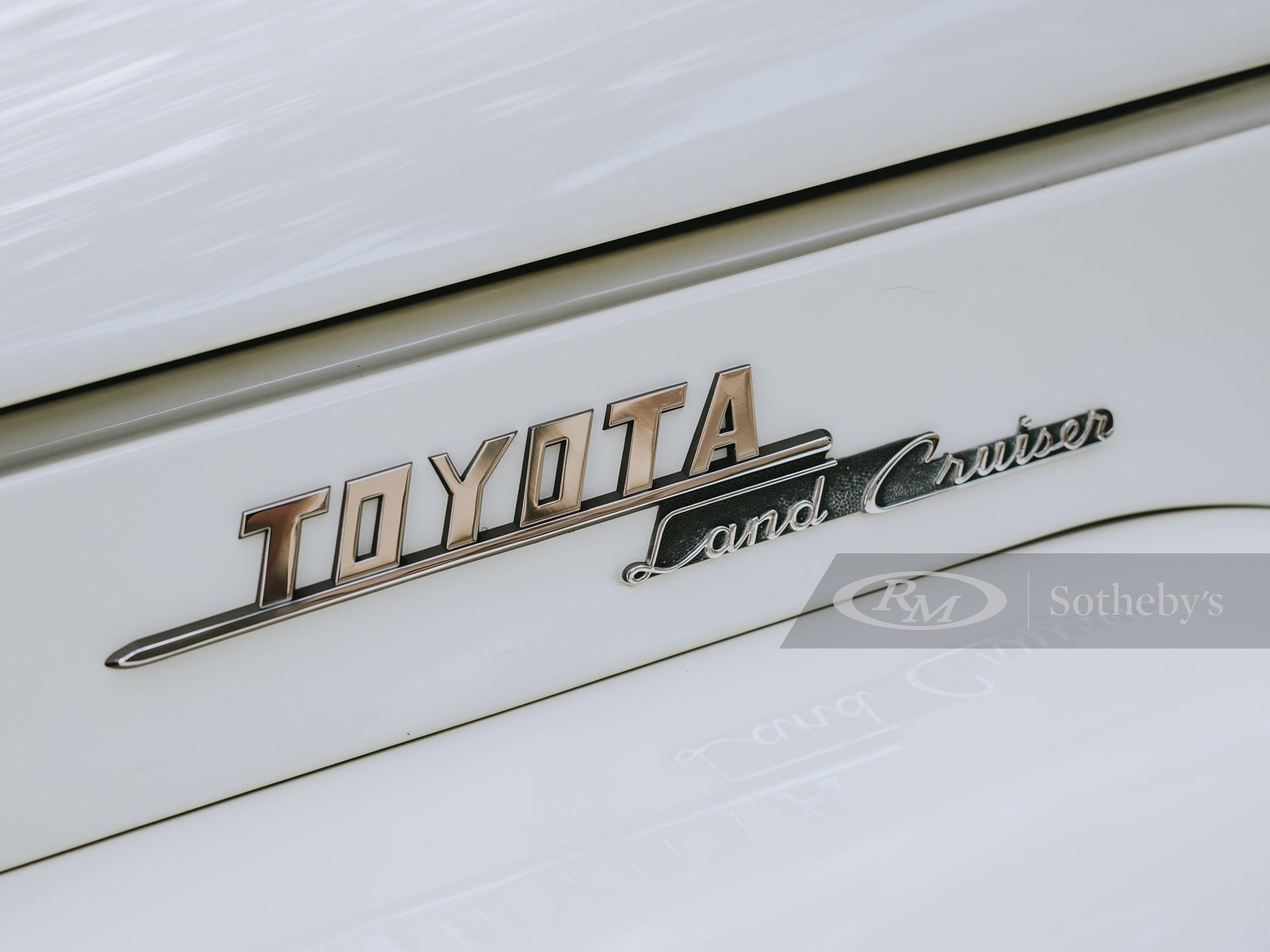 1960 Toyota FJ25 Land Cruiser Soft-Top  -