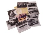 Indianapolis Racing Photographs, Signed by Sam Hanks - $