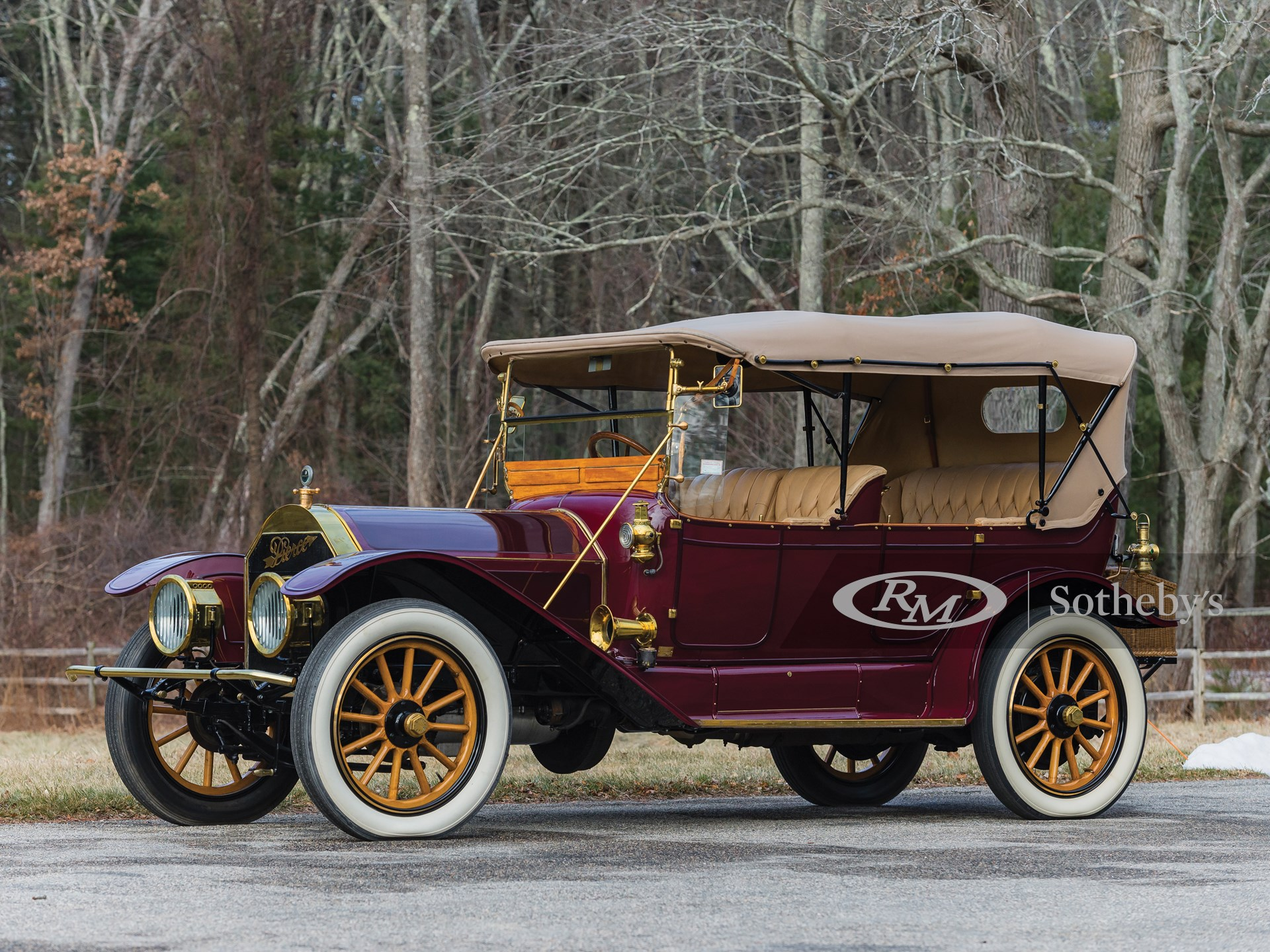 1912 Pierce-Arrow Model 66-QQ Five-Passenger Touring  -