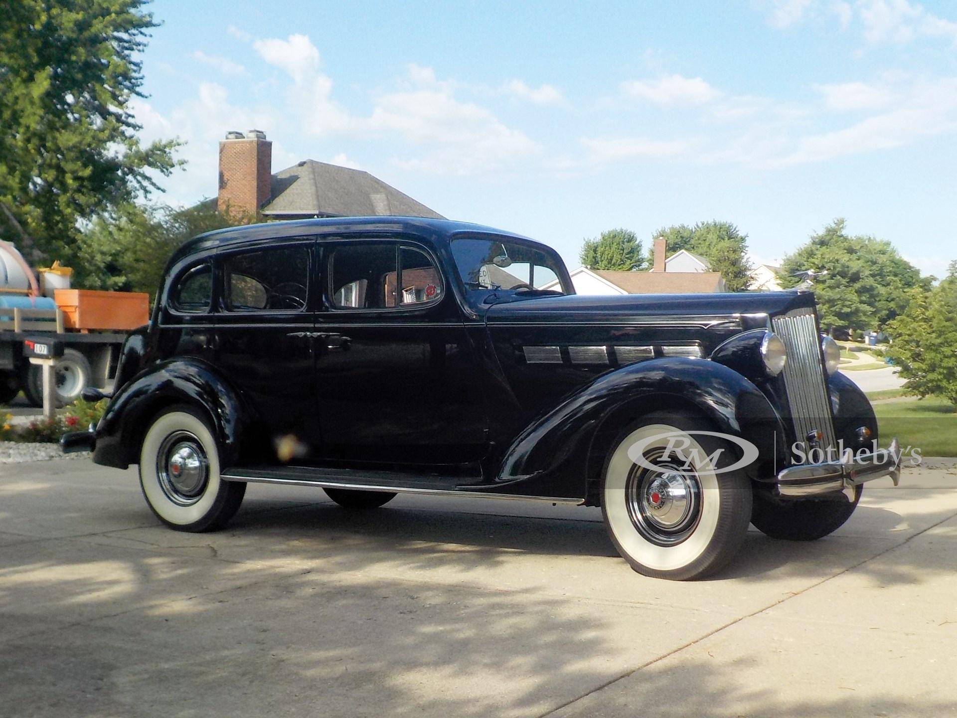 1937 Packard One Twenty Touring Sedan