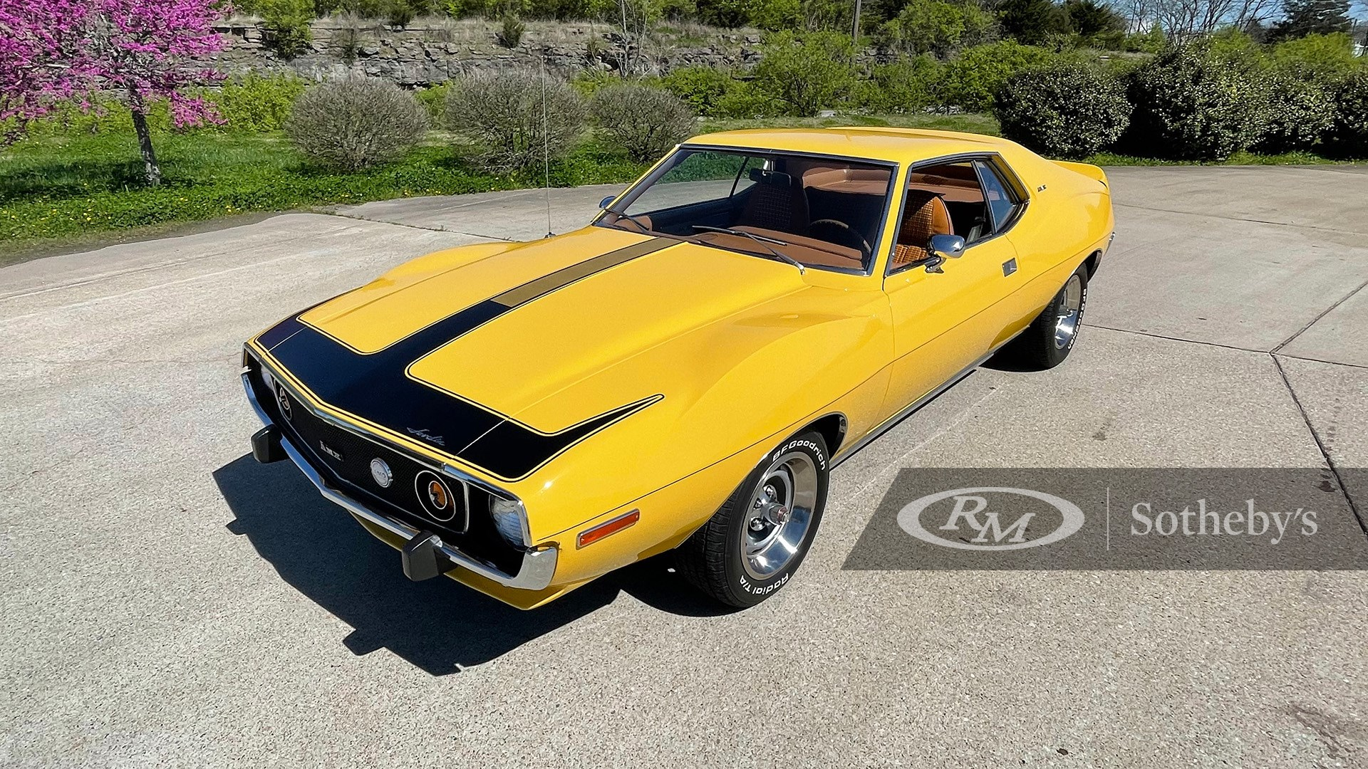 1974 AMC Javelin AMX available at RM Sotheby's Online Only Open Roads April Auction 2021