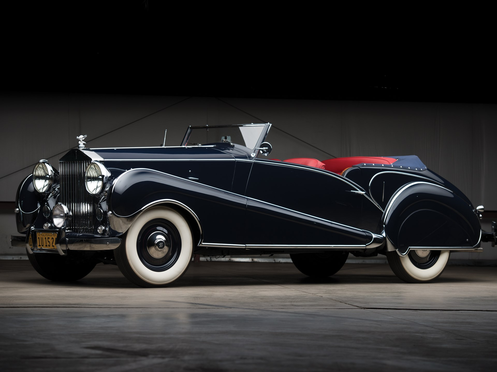 1947 Rolls-Royce Silver Wraith Drophead Coupe by Inskip