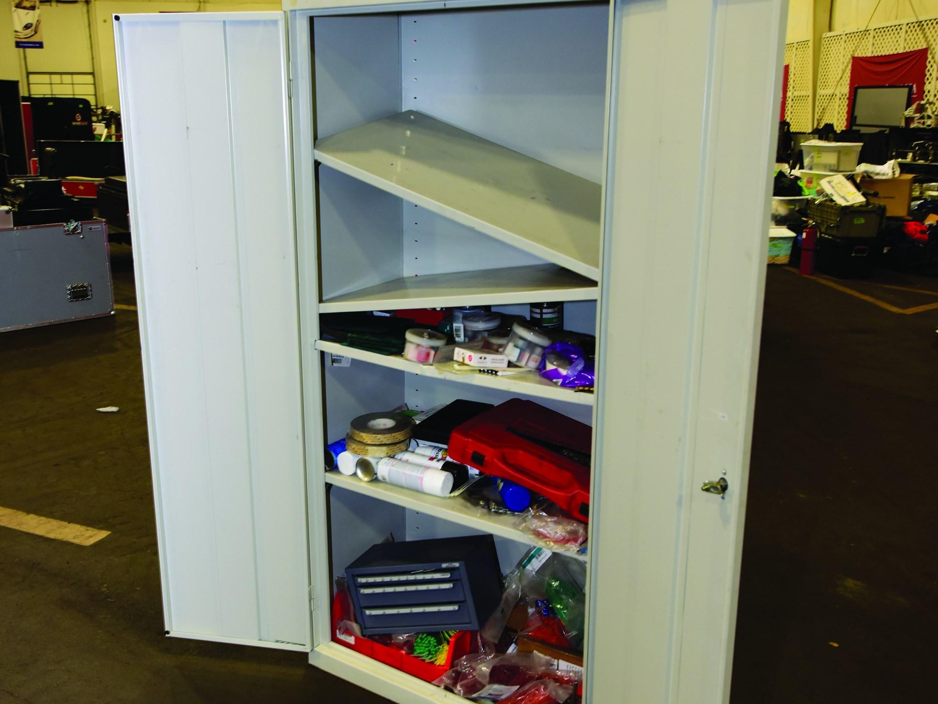 Sandusky Cabinet And Assorted Tools