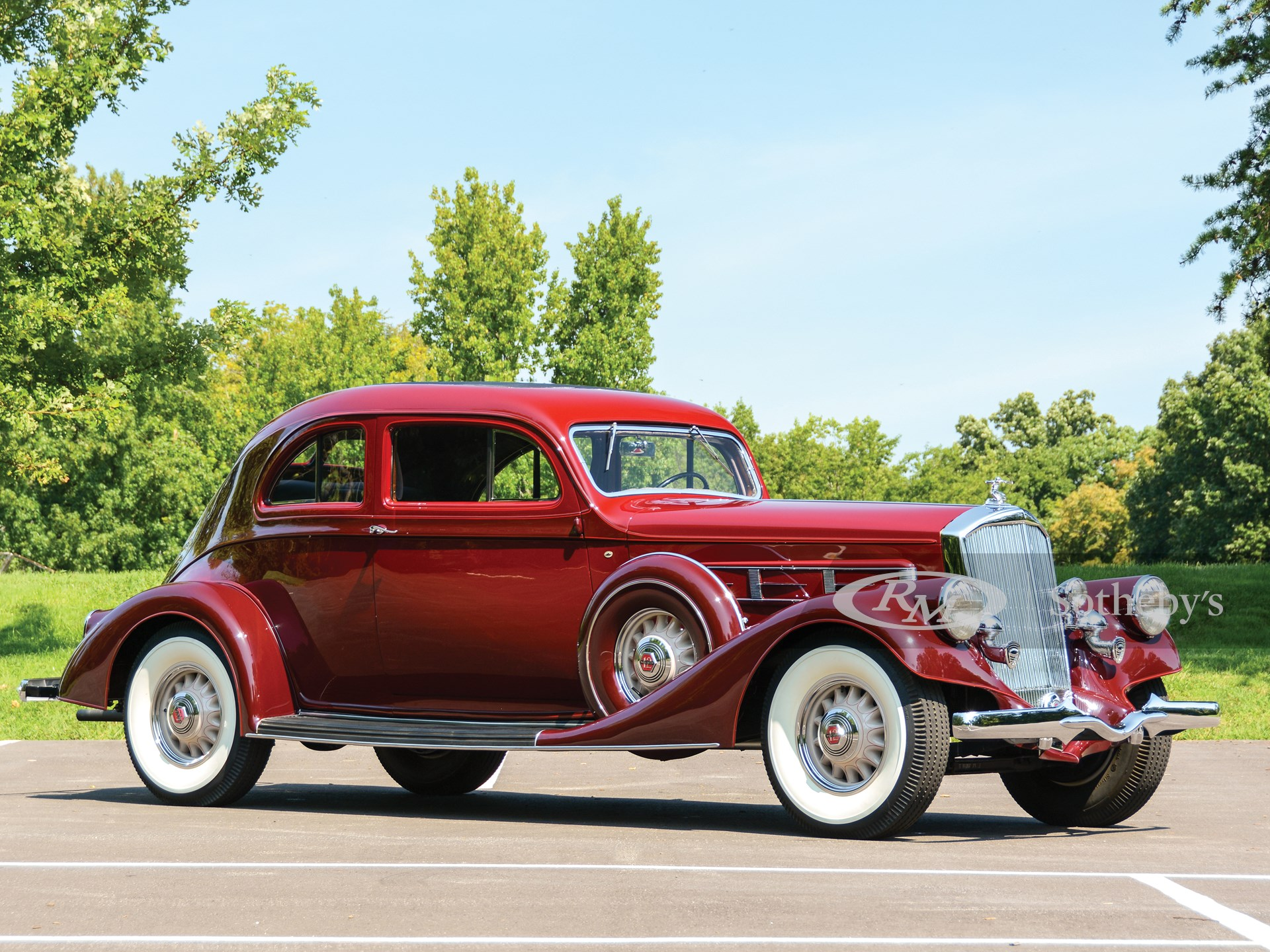 1935 Pierce-Arrow Twelve Silver Arrow Coupe  -