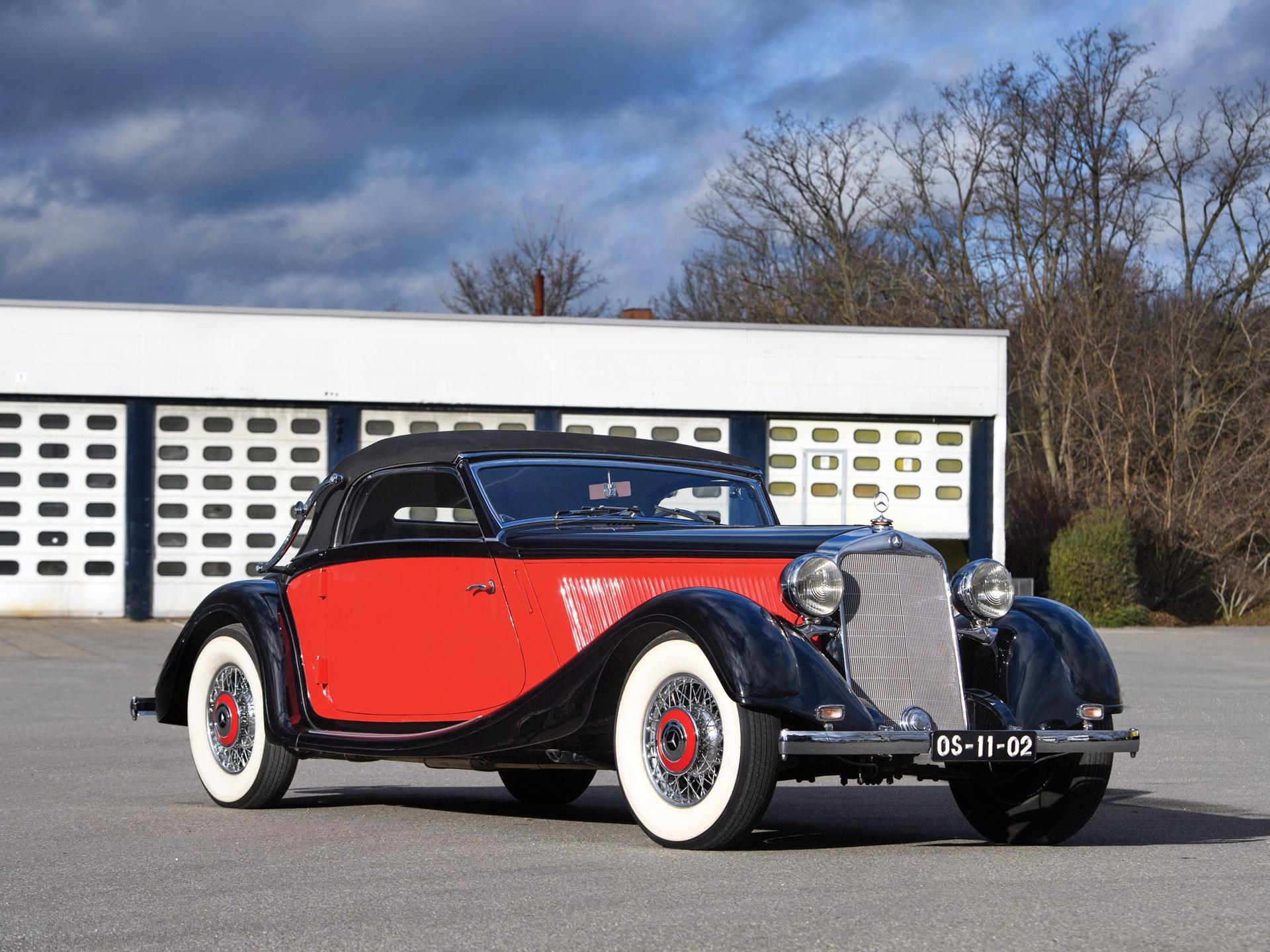 Resultado de imagem para Mercedes 290 Lang 1937