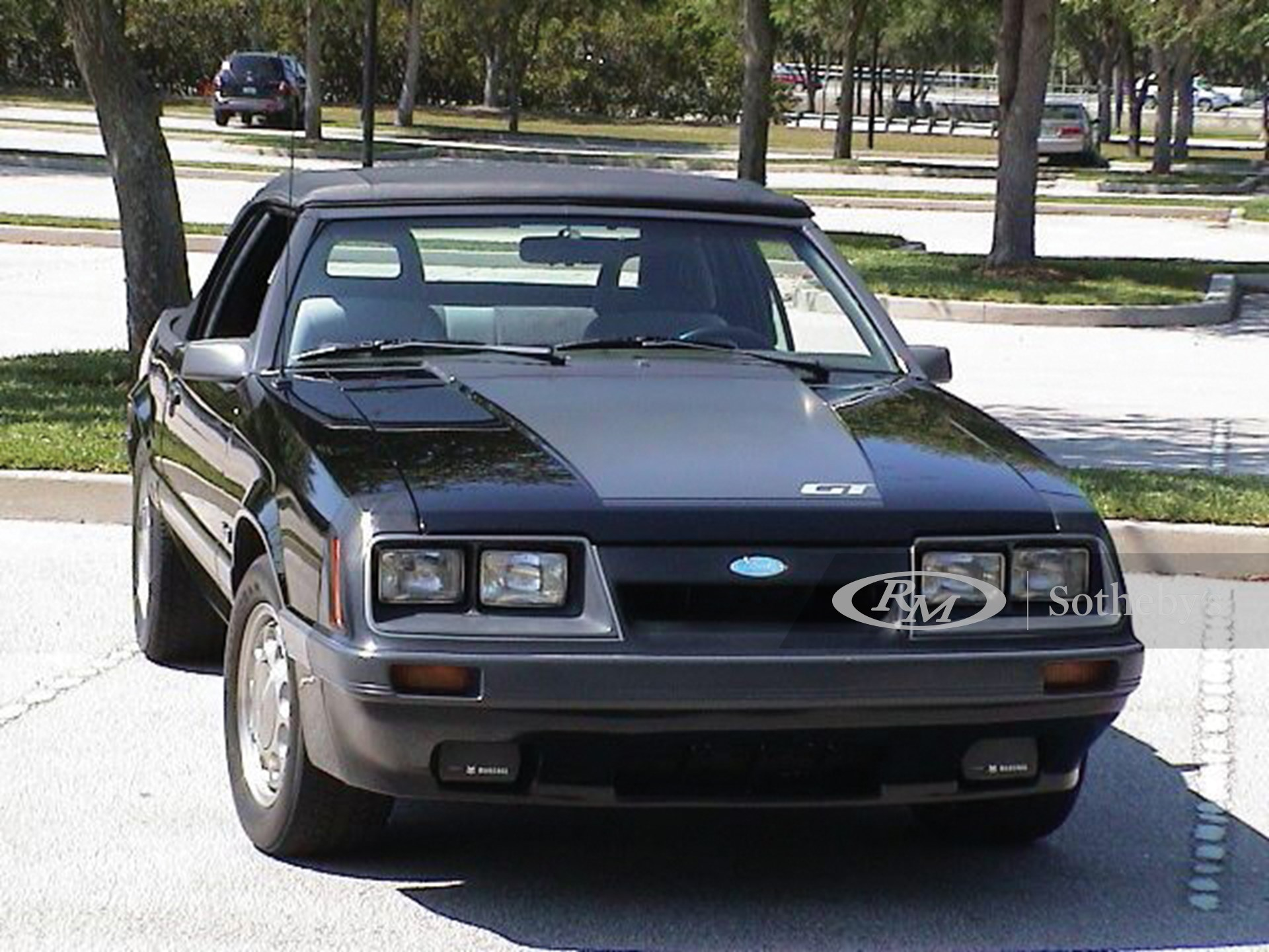 1985 Ford Mustang GT Convertible  -