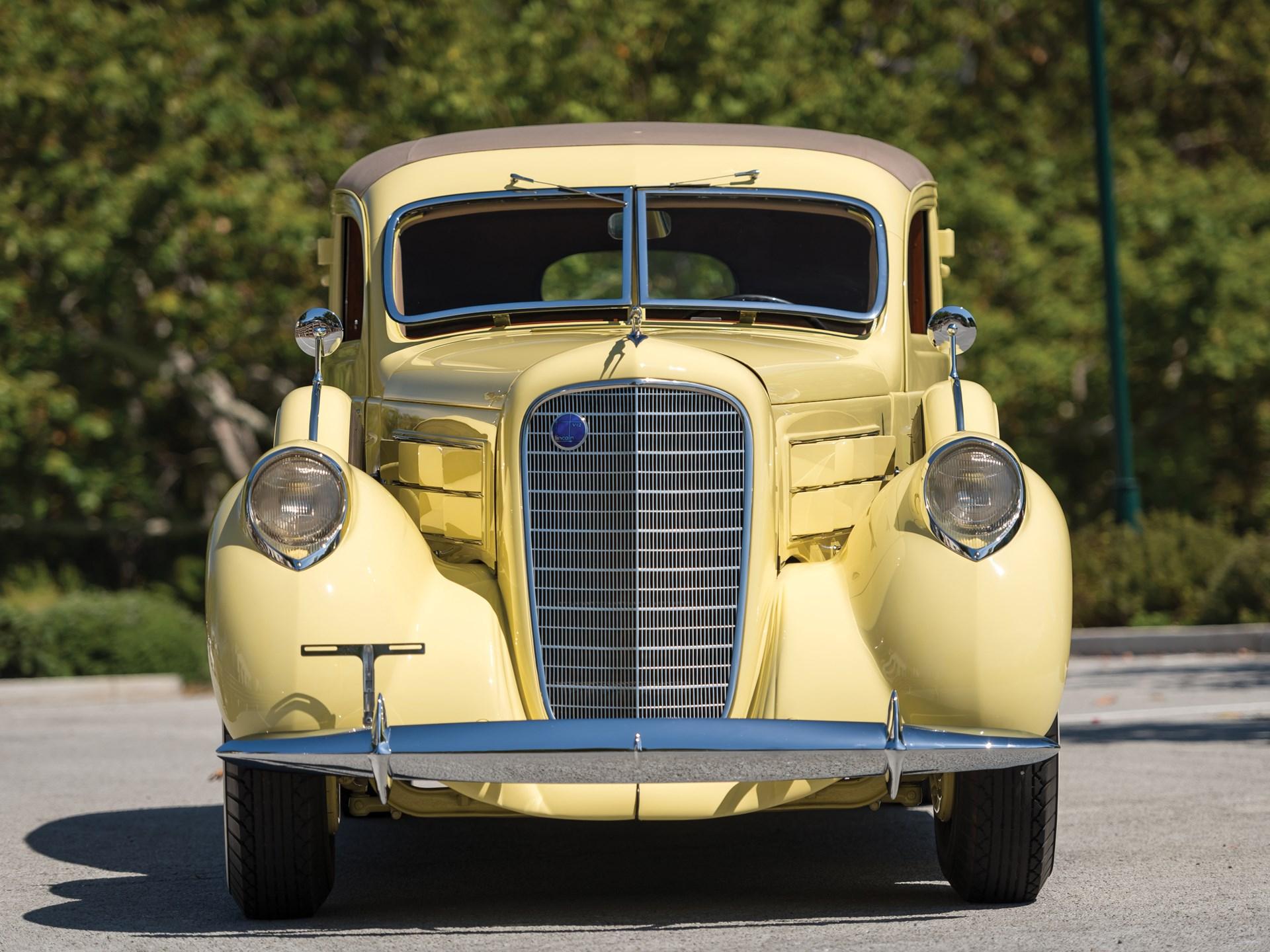 1937 Lincoln Model K Two-Window Berline by Judkins