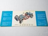 Ferrari 250 Mille Miglia Brochure, English - $