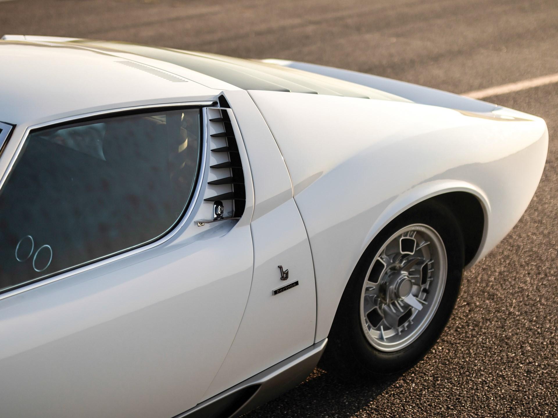 Rm Sotheby S 1971 Lamborghini Miura P400 S By Bertone London 2018