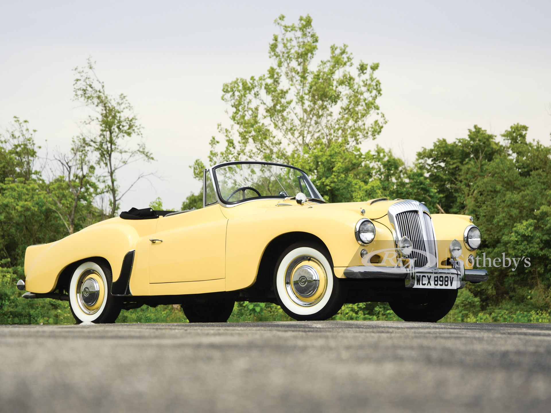 1957 Daimler Conquest Century New Drophead Coupe