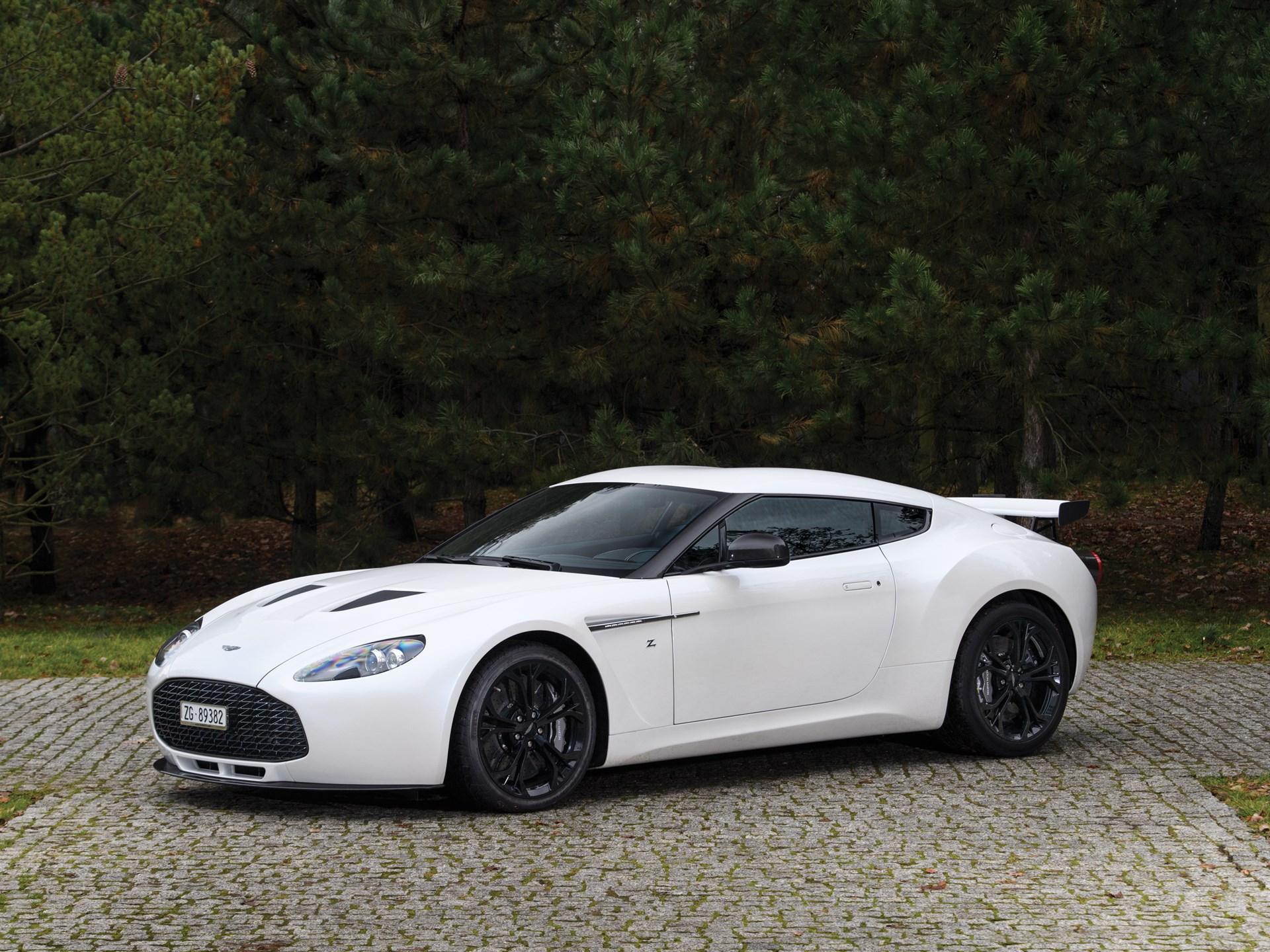 Rm Sotheby S 2012 Aston Martin V12 Zagato No Zero Paris 2017